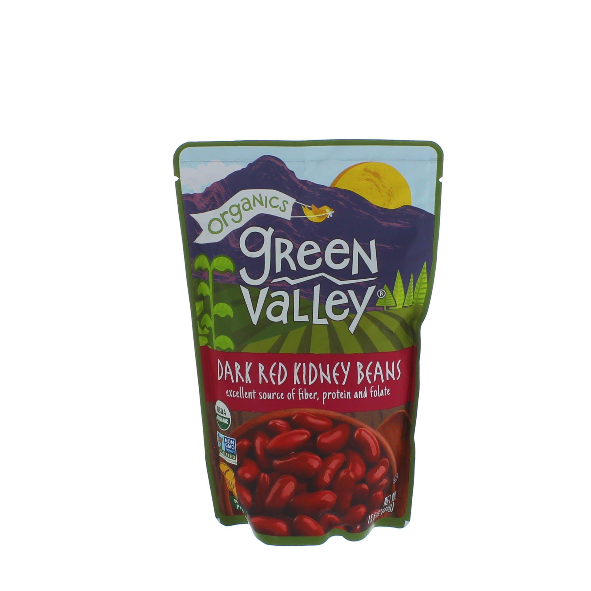Green Valley Organics Dark Red Kidney Beans Shop Beans Legumes At H E B