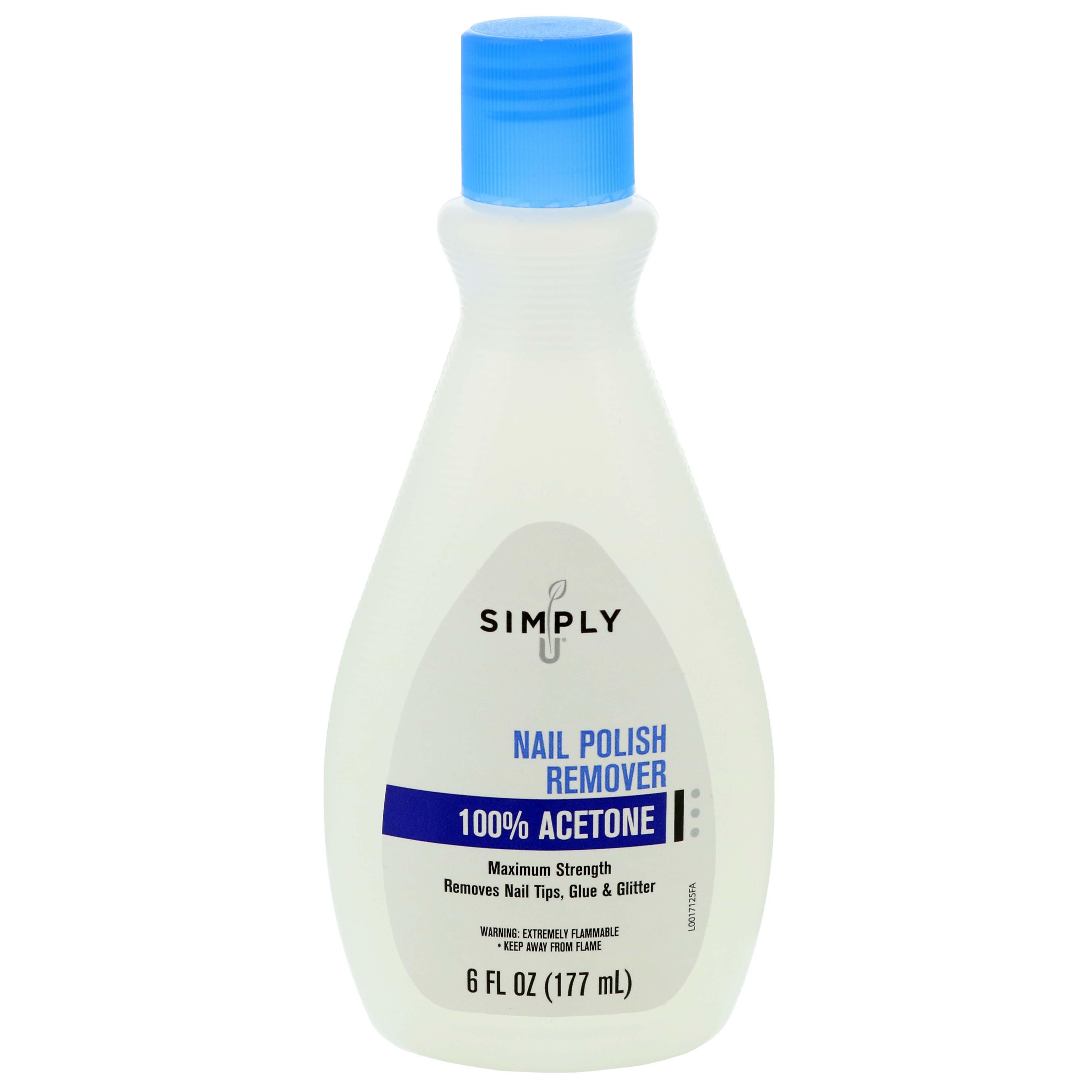 Simply U 100 Acetone Nail Polish Remover Shop Polish Remover At H E B