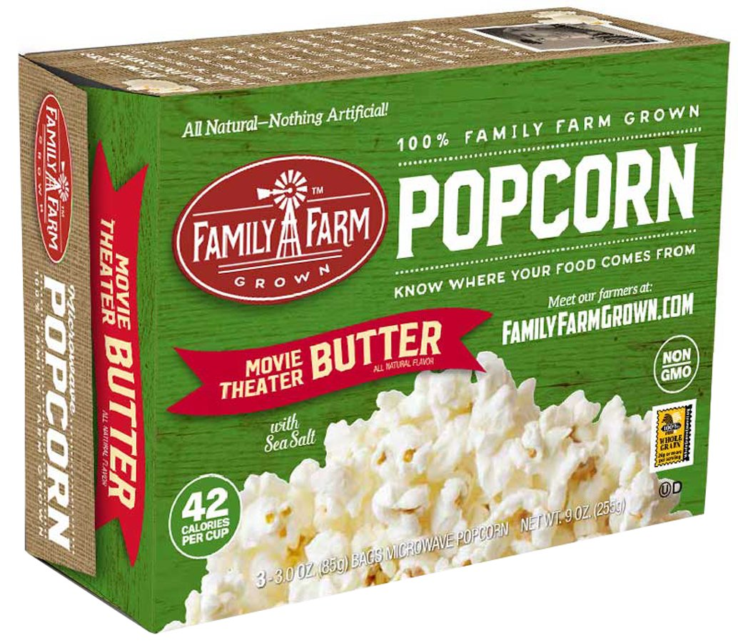 Family Farm Grown Movie Theater Butter Popcorn Shop Popcorn At H E B