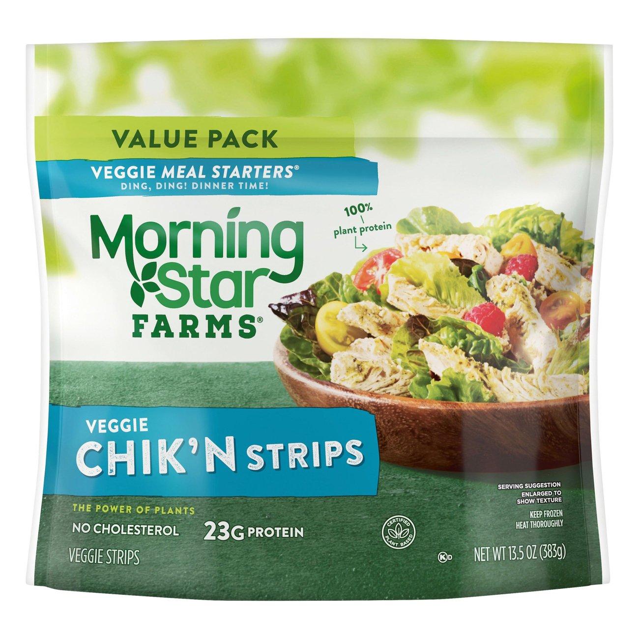 Morningstar Farms Meal Starters Chik N Strips Shop Meat Alternatives At H E B