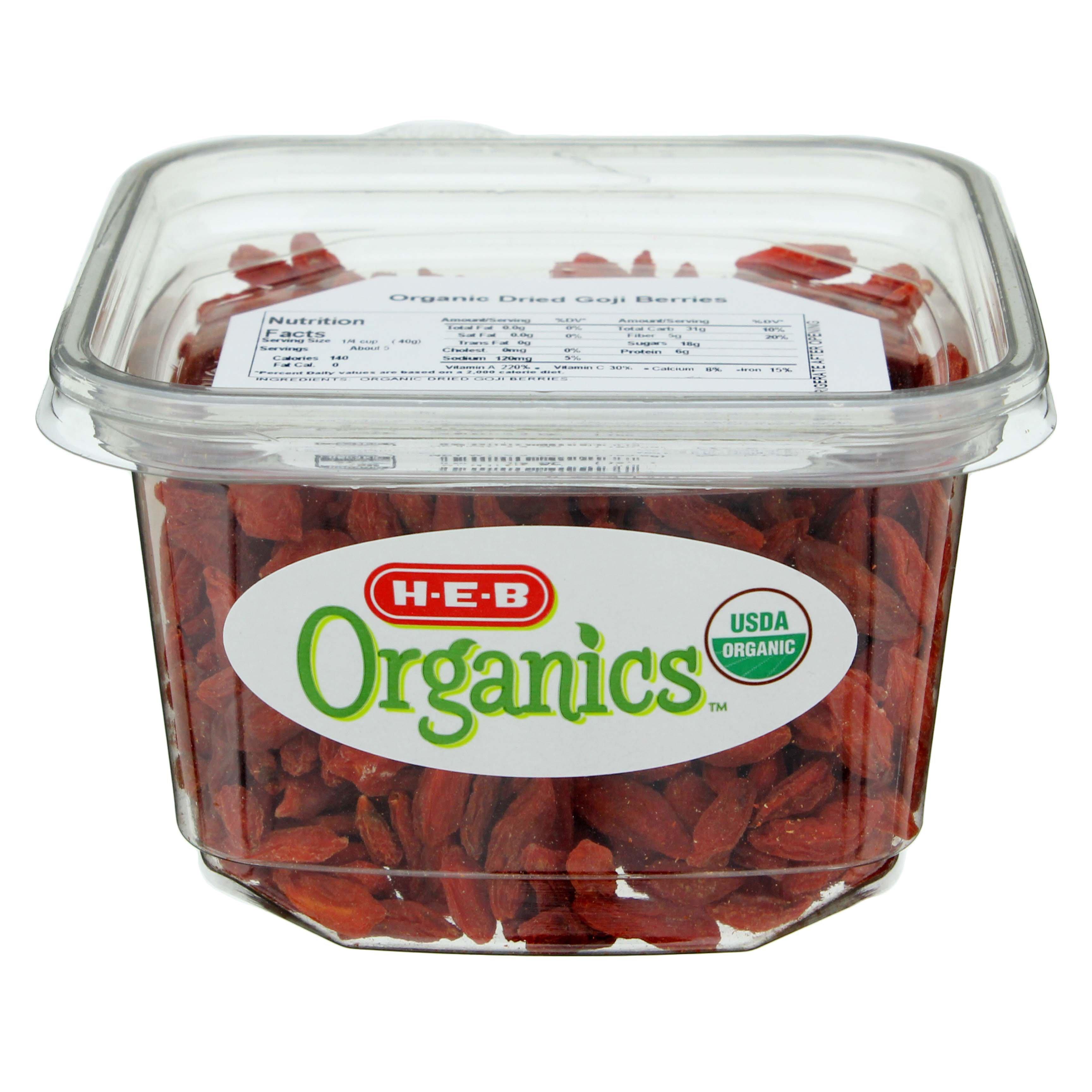 H-E-B Organics Goji Berries - Shop Fruit at H-E-B