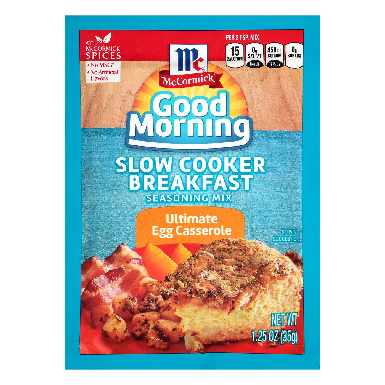 Mccormick Good Morning Slow Cooker Breakfast Ultimate Egg Casserole Shop Spice Mixes At H E B