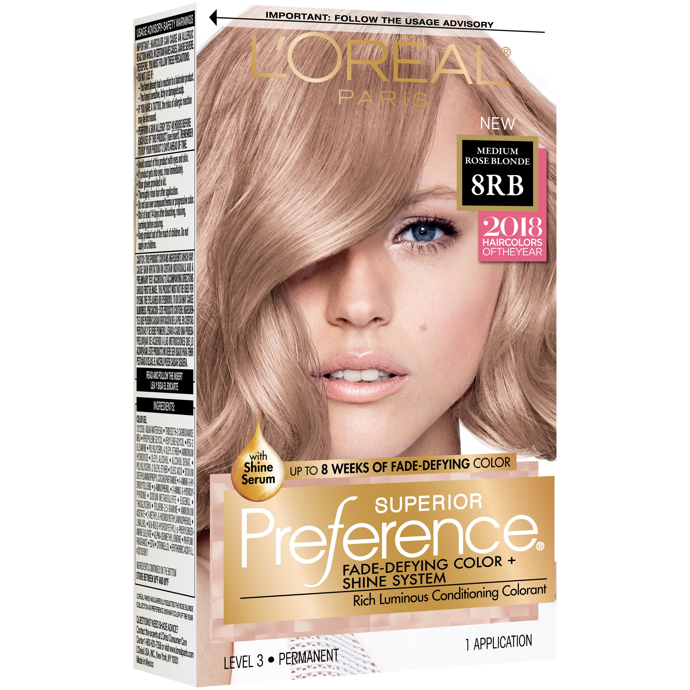 Loreal Preference Color Chart Hairstyle Inspirations 2018