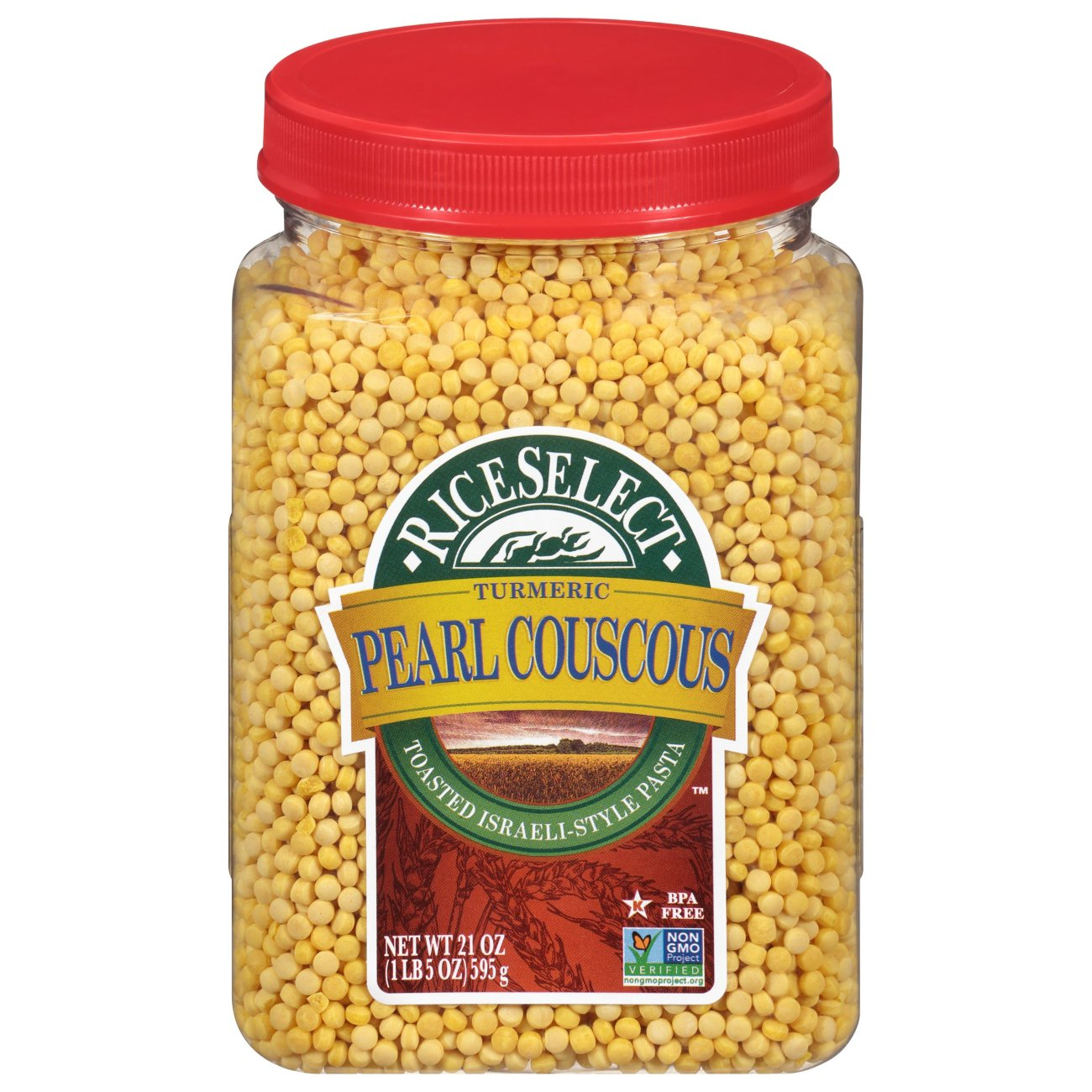 Rice Select Pearl Couscous With Turmeric Shop Pasta At H E B