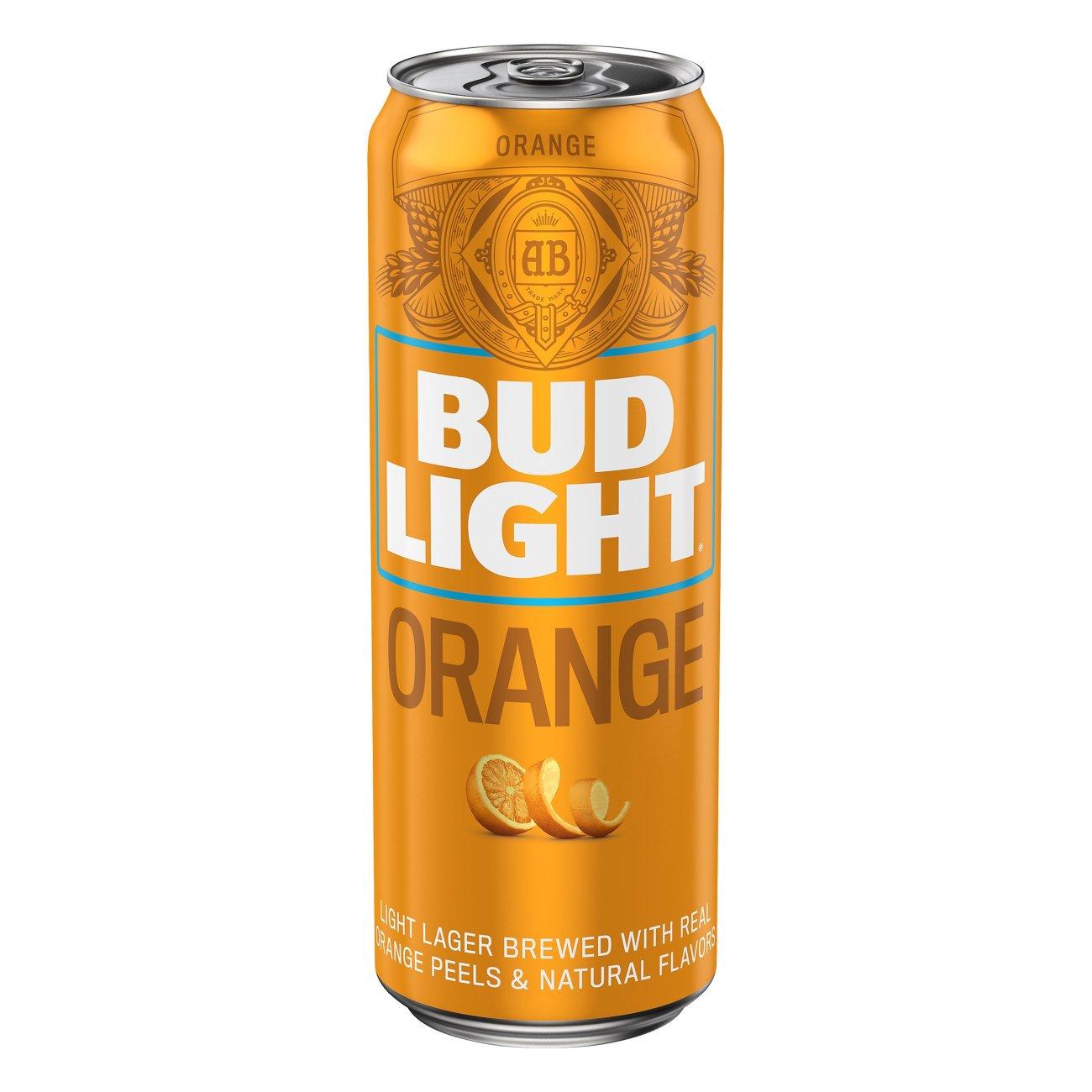 Bud Light Orange   Shop Beer At HEB