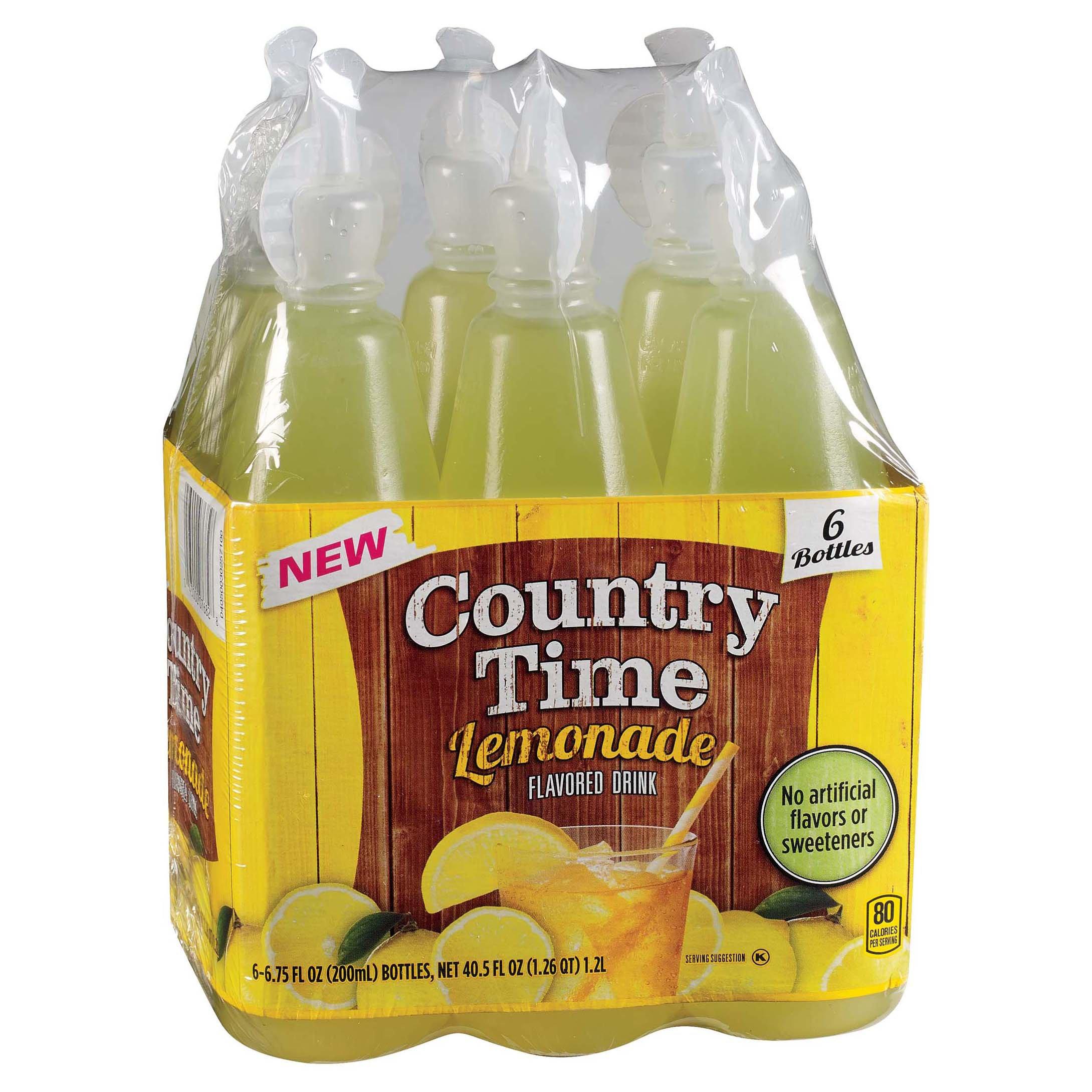 Country Time Lemonade 675 Oz Bottles Shop Juice At Heb
