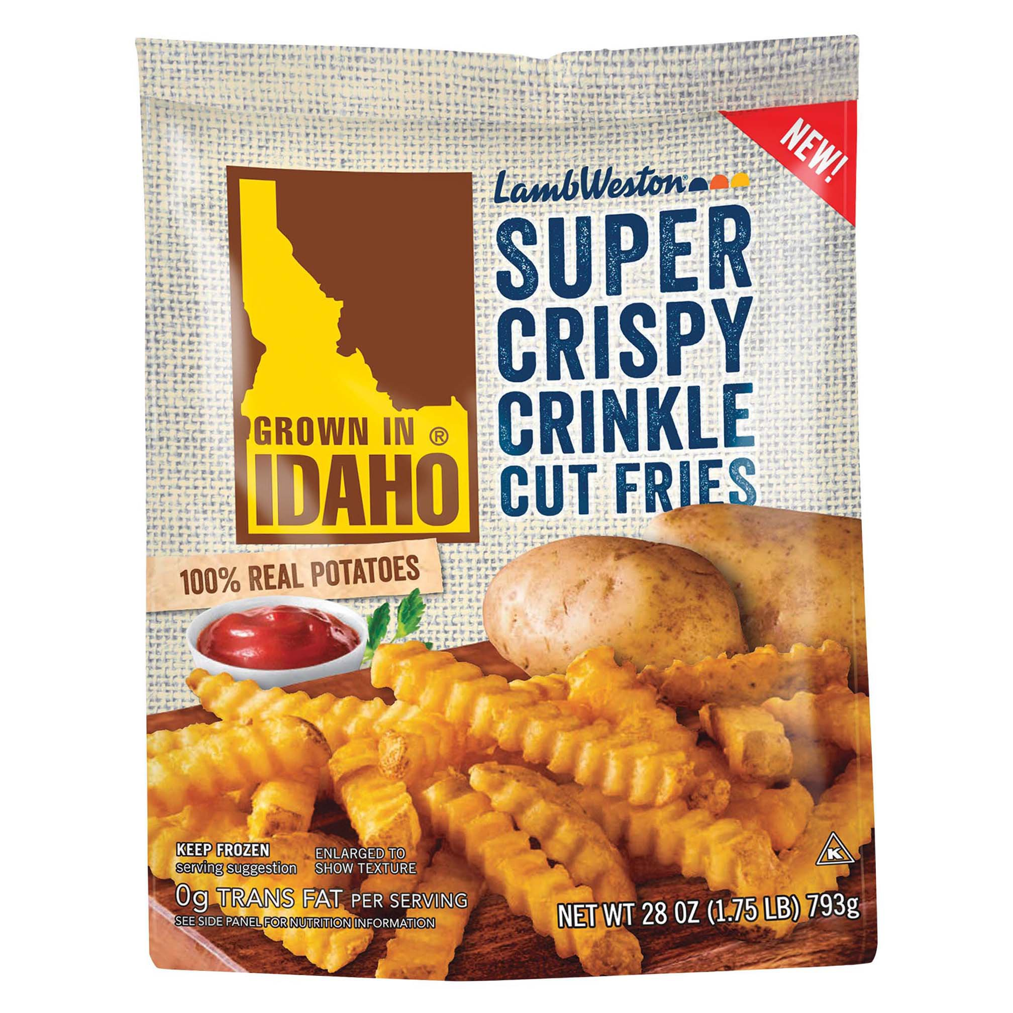 Idaho Super Crispy Crinkle Cut Fries