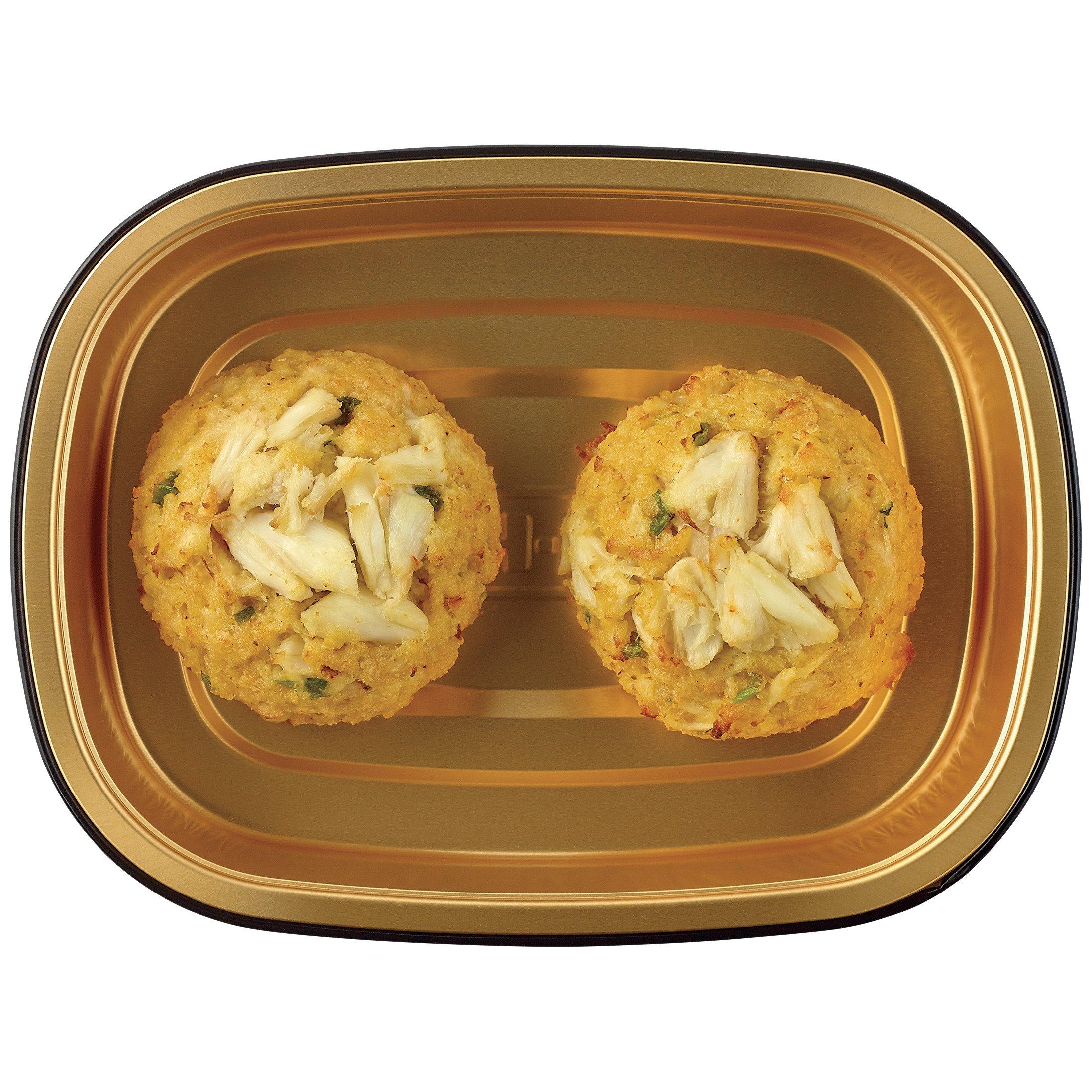 H E B Meal Simple Jumbo Lump Crab Cakes Shop Entrees Sides At H E B