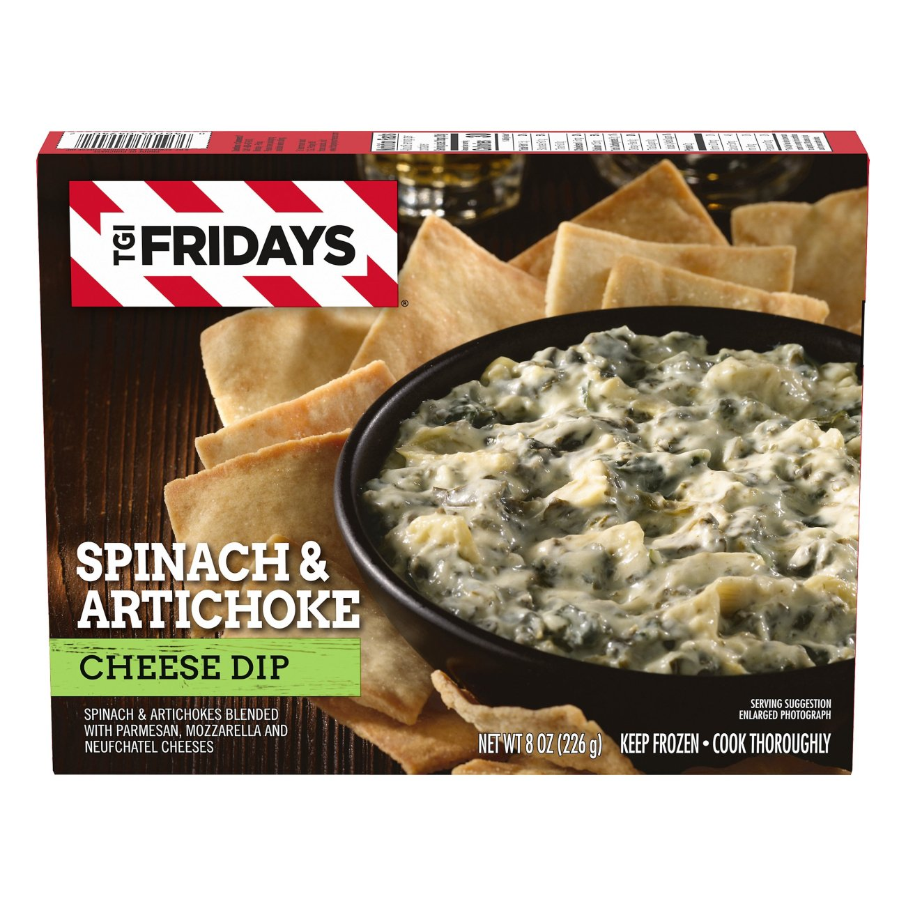 Tgi Fridays Spinach Artichoke Cheese Dip Shop Appetizers At H E B