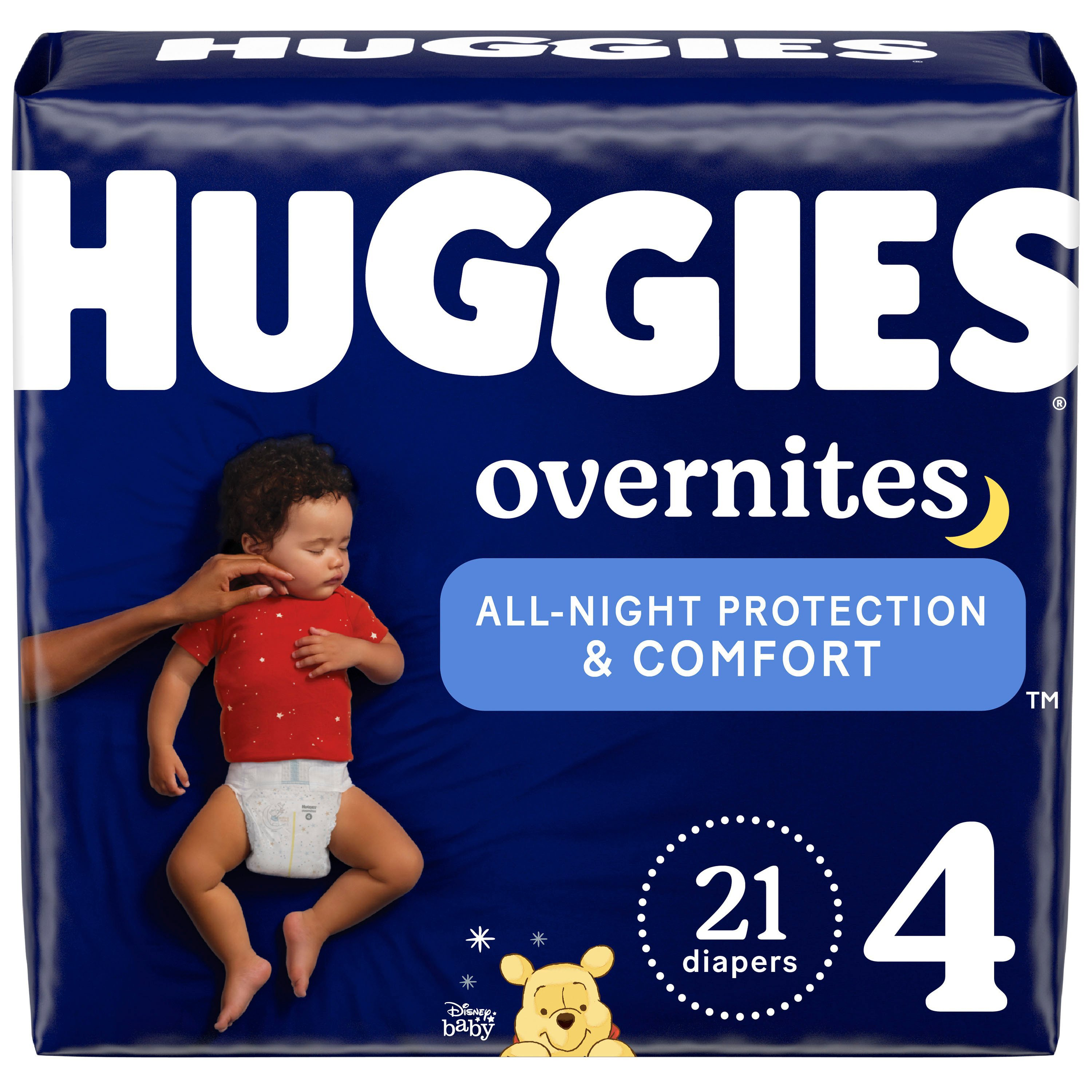 Marque H Et H huggies overnites diapers 21 ct
