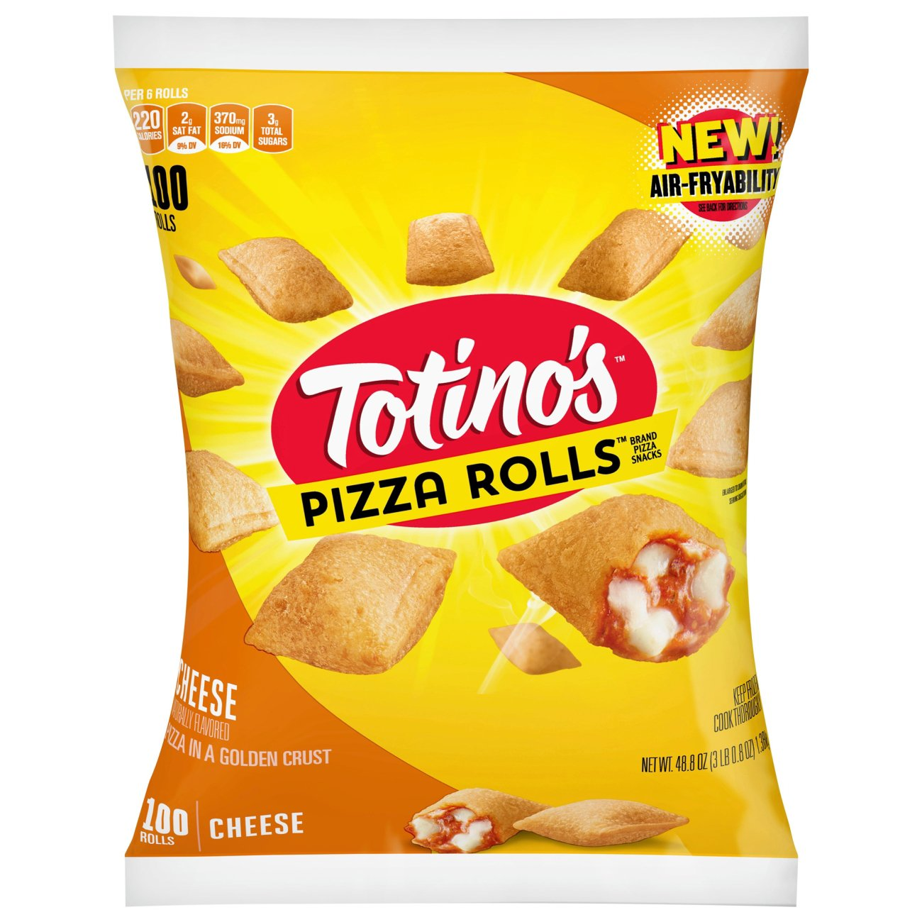 Totinos Pizza Rolls Cheese Pizza Snacks