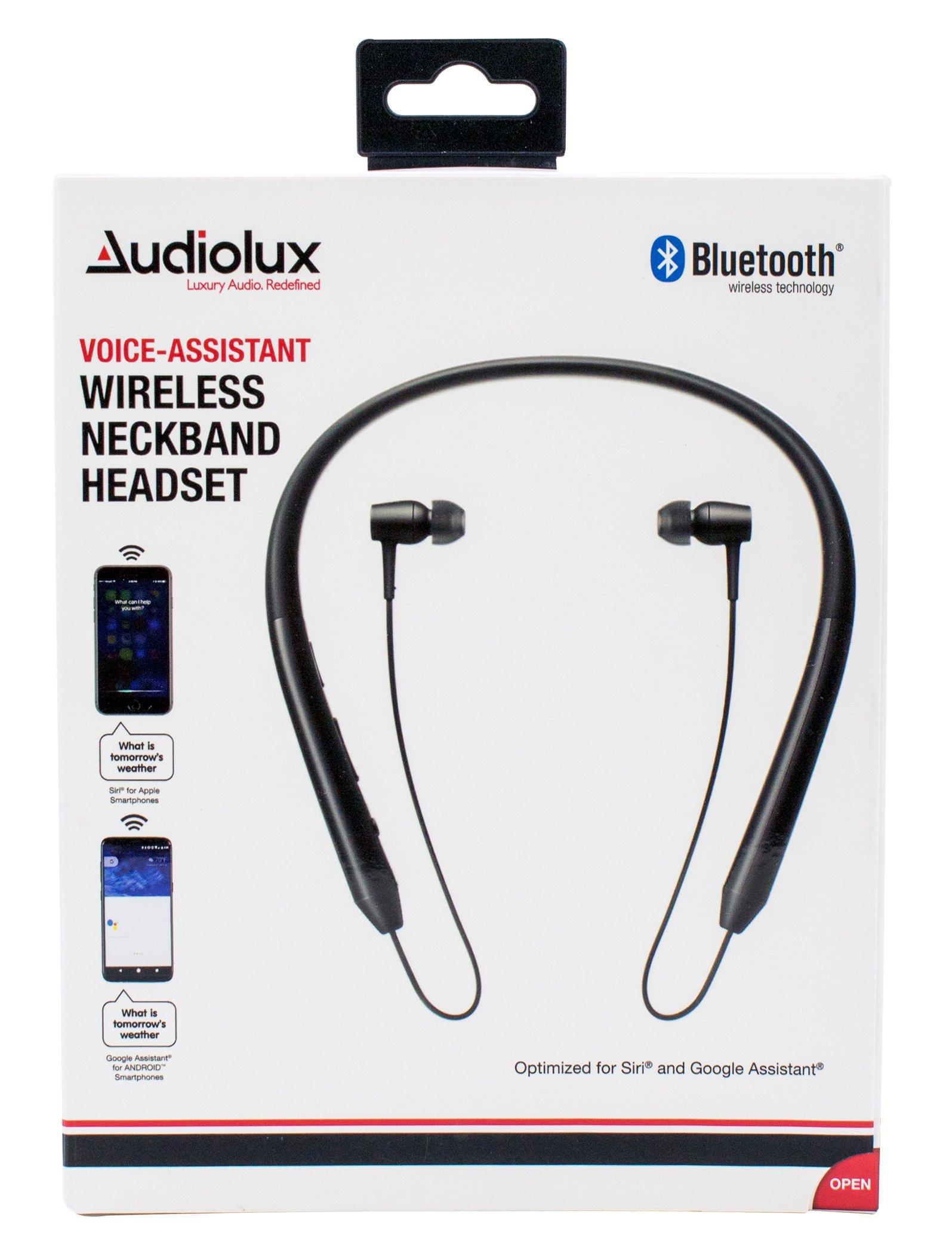 Audiolux Bluetooth Neckband Headset