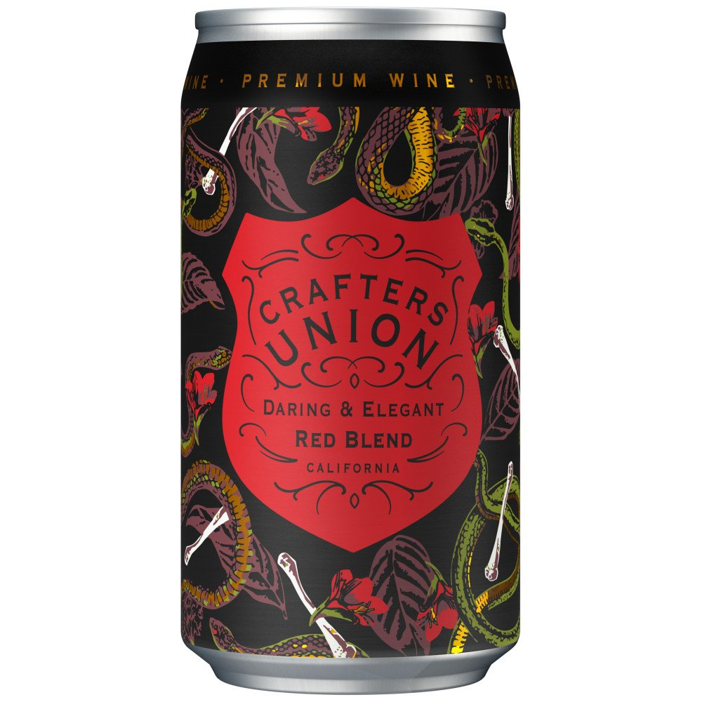 Crafters Union Red Blend Canned Wine Shop Wine At H E B