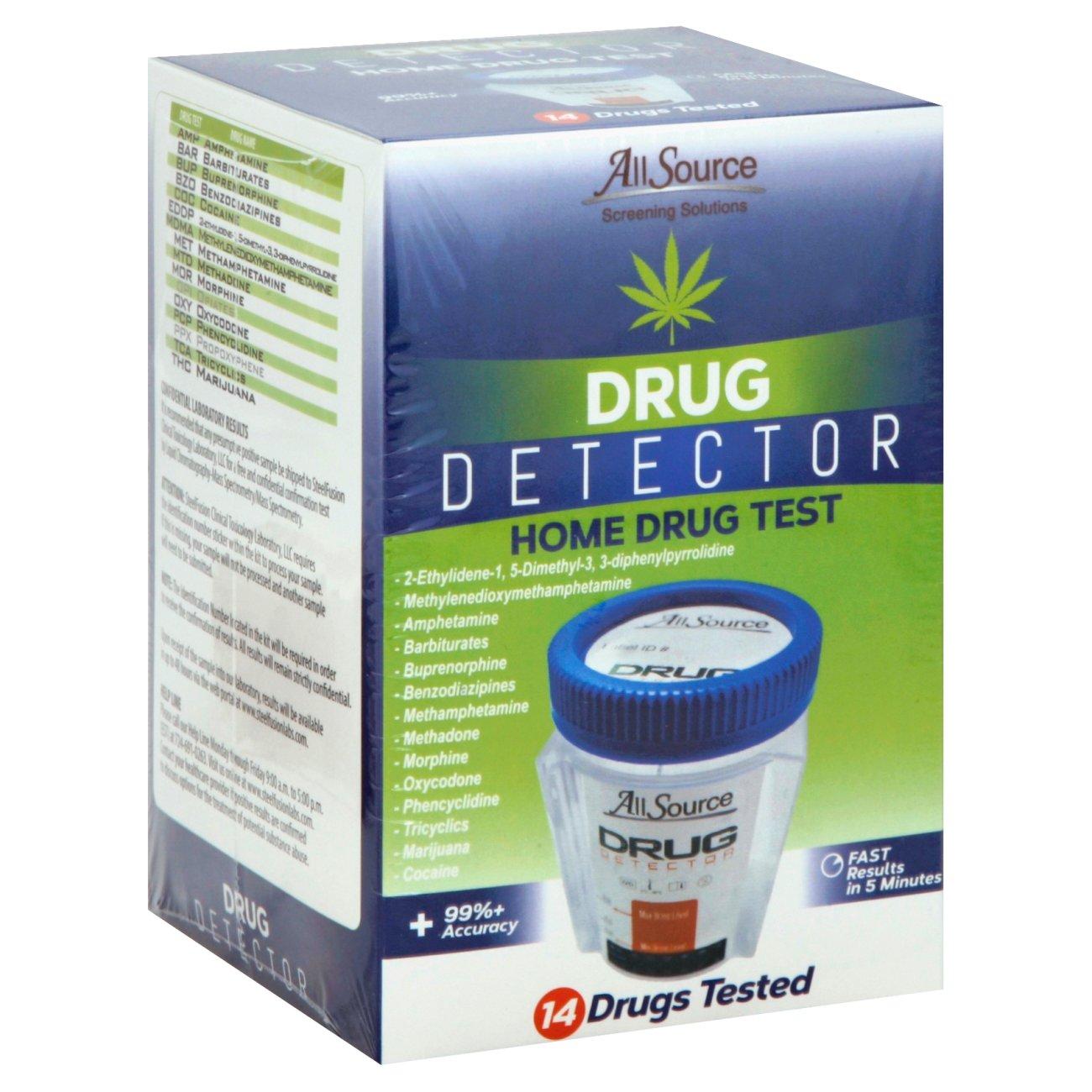 All Source Drug Detector 14 Panel Home Drug Test