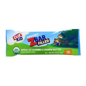 Clif Kid Zbar Organic Filled Apple Almond & Cashew Butter
