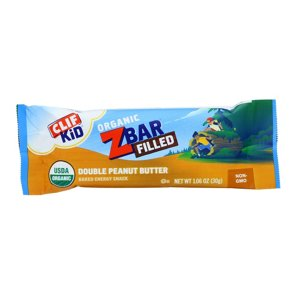 Clif Kid Zbar Organic Filled Double Peanut Butter