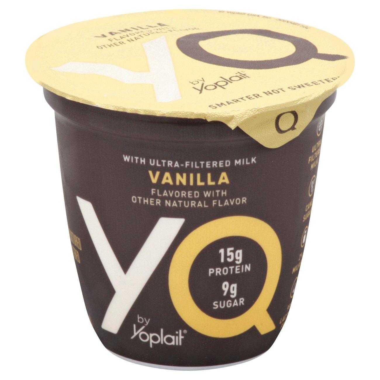 Yoplait YQ Ultra-Filtered Milk Vanilla
