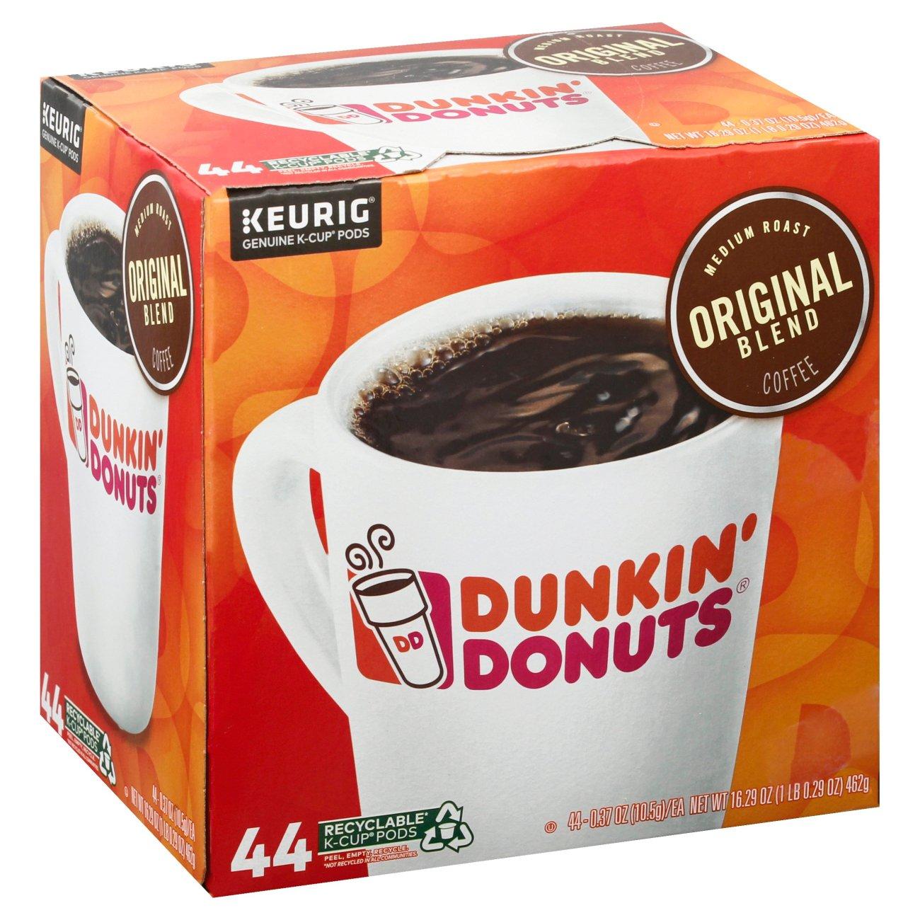 Dunkin' Donuts Original Blend Medium Roast Single Serve ...