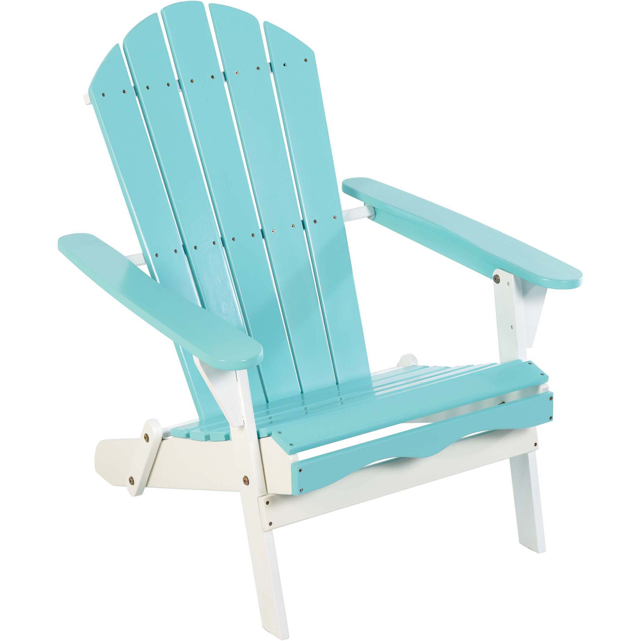 Outdoor Solutions Waterside Adirondack Chair Aqua Shop Chairs Seating At H E B
