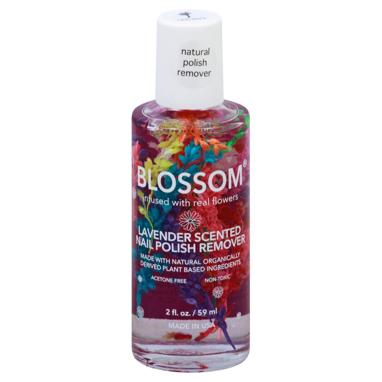 Blossom Lavender Polish Remover Shop Polish Remover At H E B