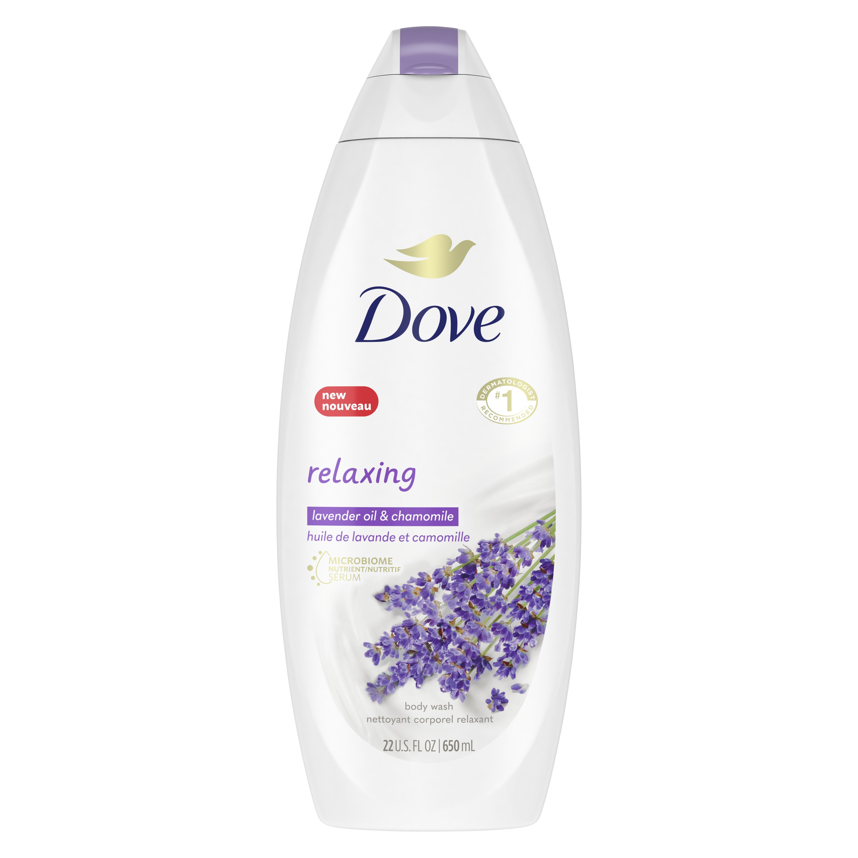 Dove Relaxing Lavender Body Wash Shop Body Wash At H E B