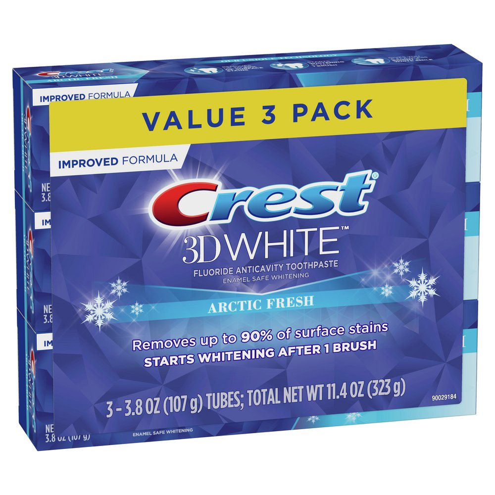 Crest 3d White Whitening Arctic Fresh Toothpaste Shop Toothpaste