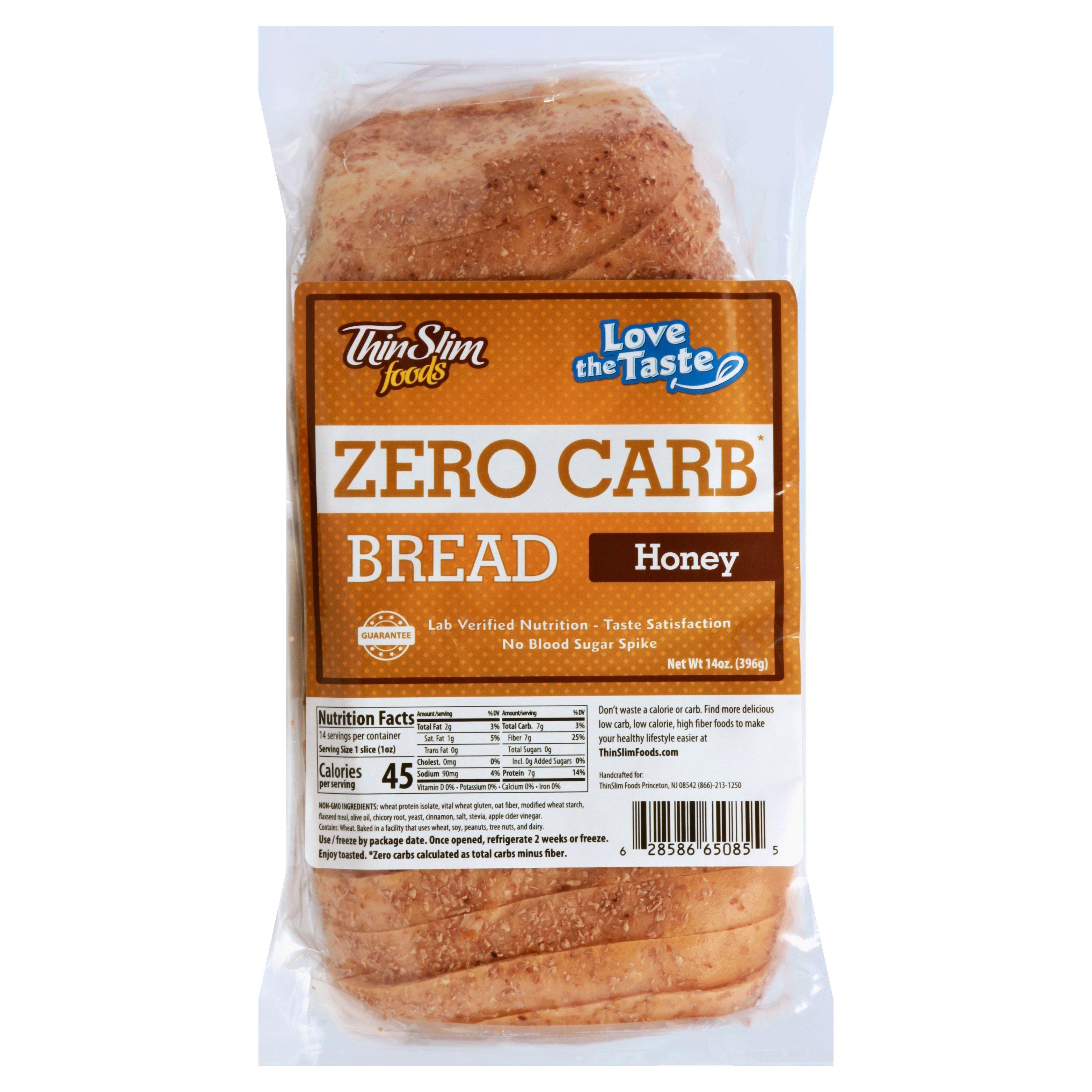 Thin Slim Foods Honey Zero Carb Bread Shop Bread At H E B