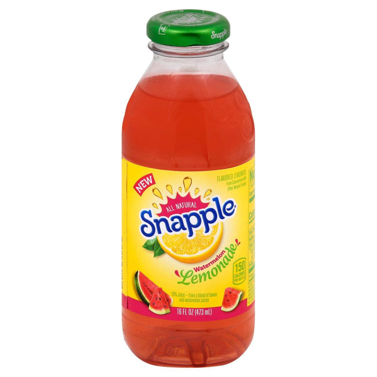 Snapple Watermelon Lemonade - Shop Tea