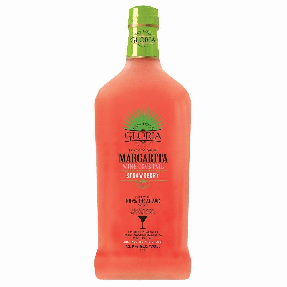 Agave Wine Margarita Recipe: Rancho La Gloria Strawberry Margarita