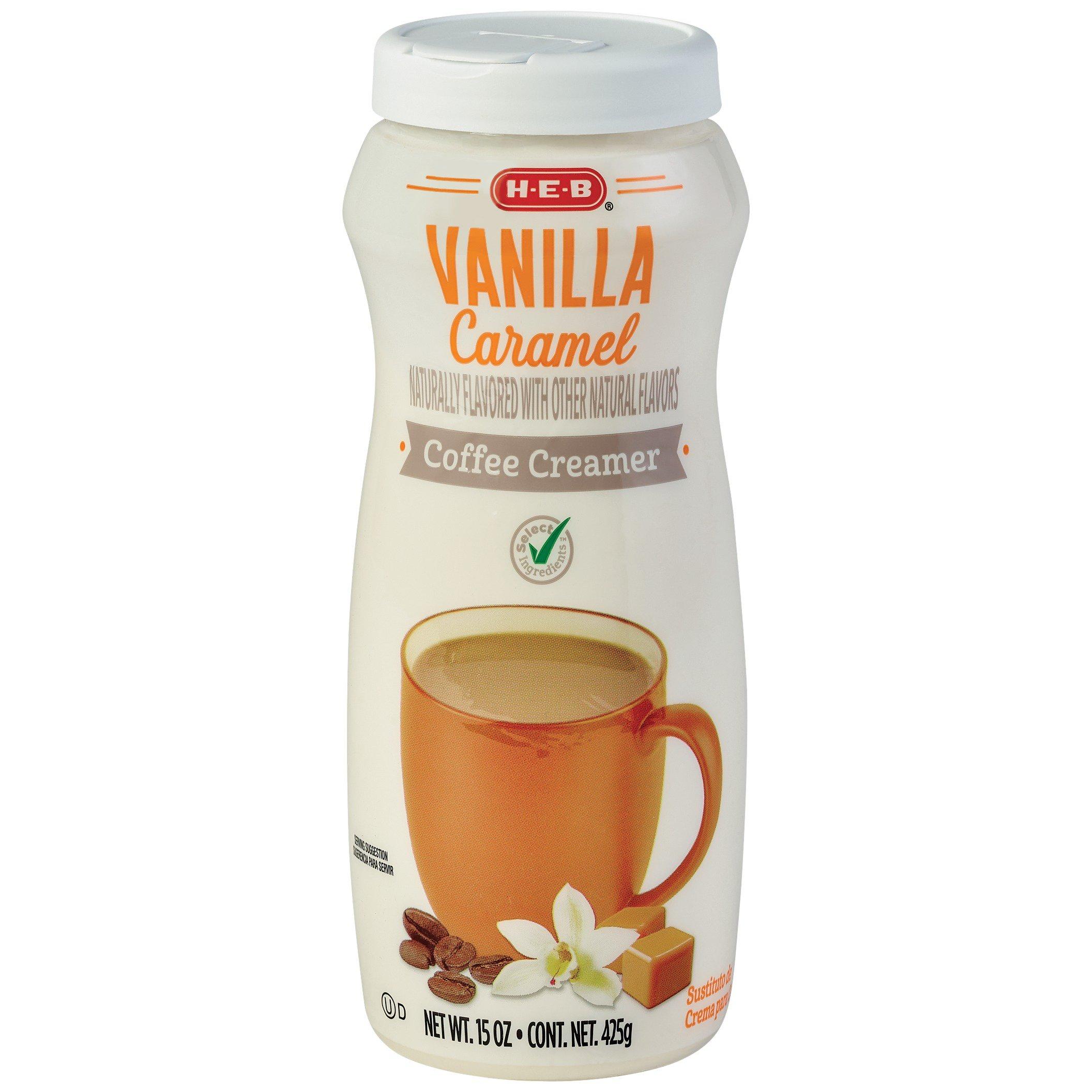 H-E-B Select Ingredients Vanilla Caramel Powdered Coffee ...
