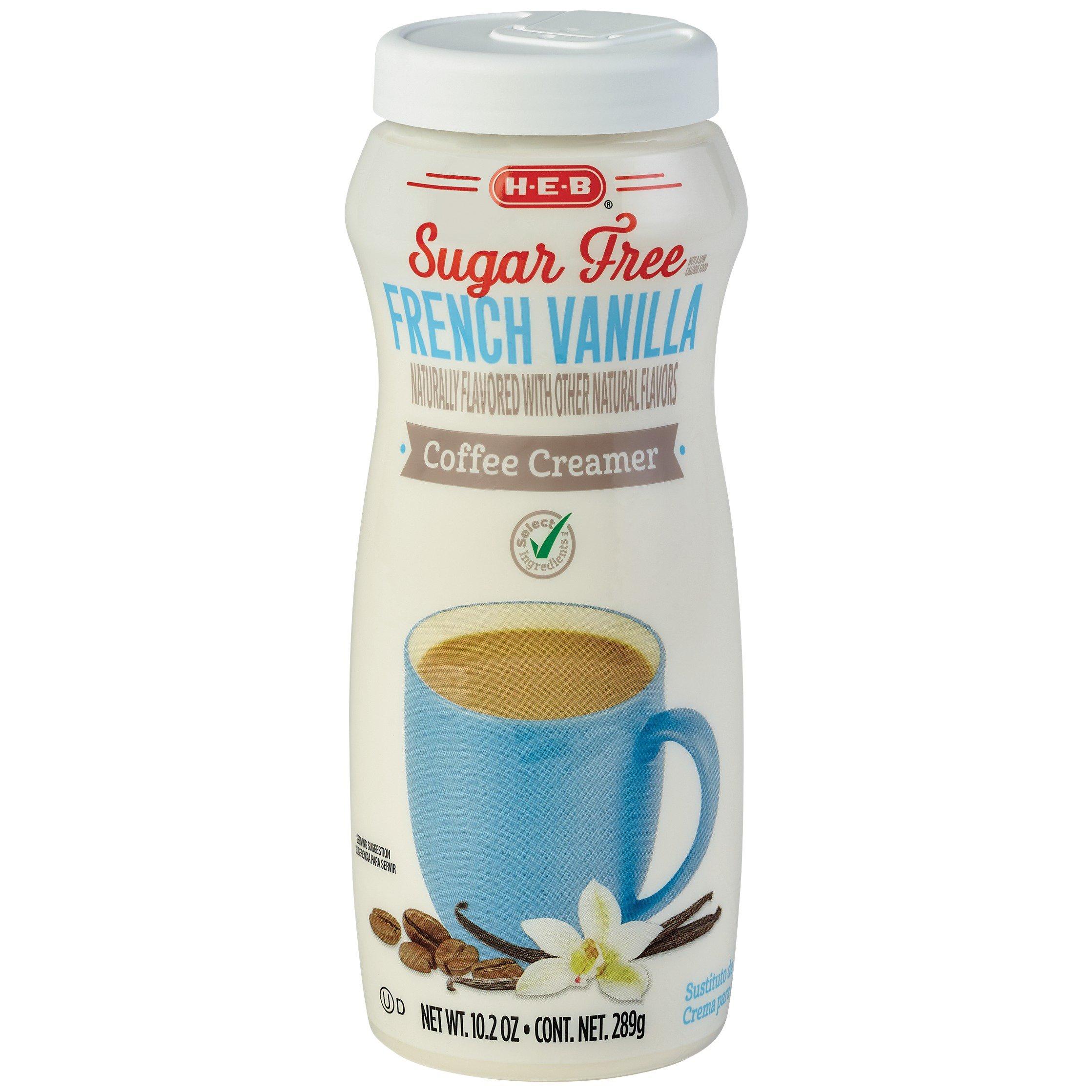 H-E-B Select Ingredients Sugar Free French Vanilla ...