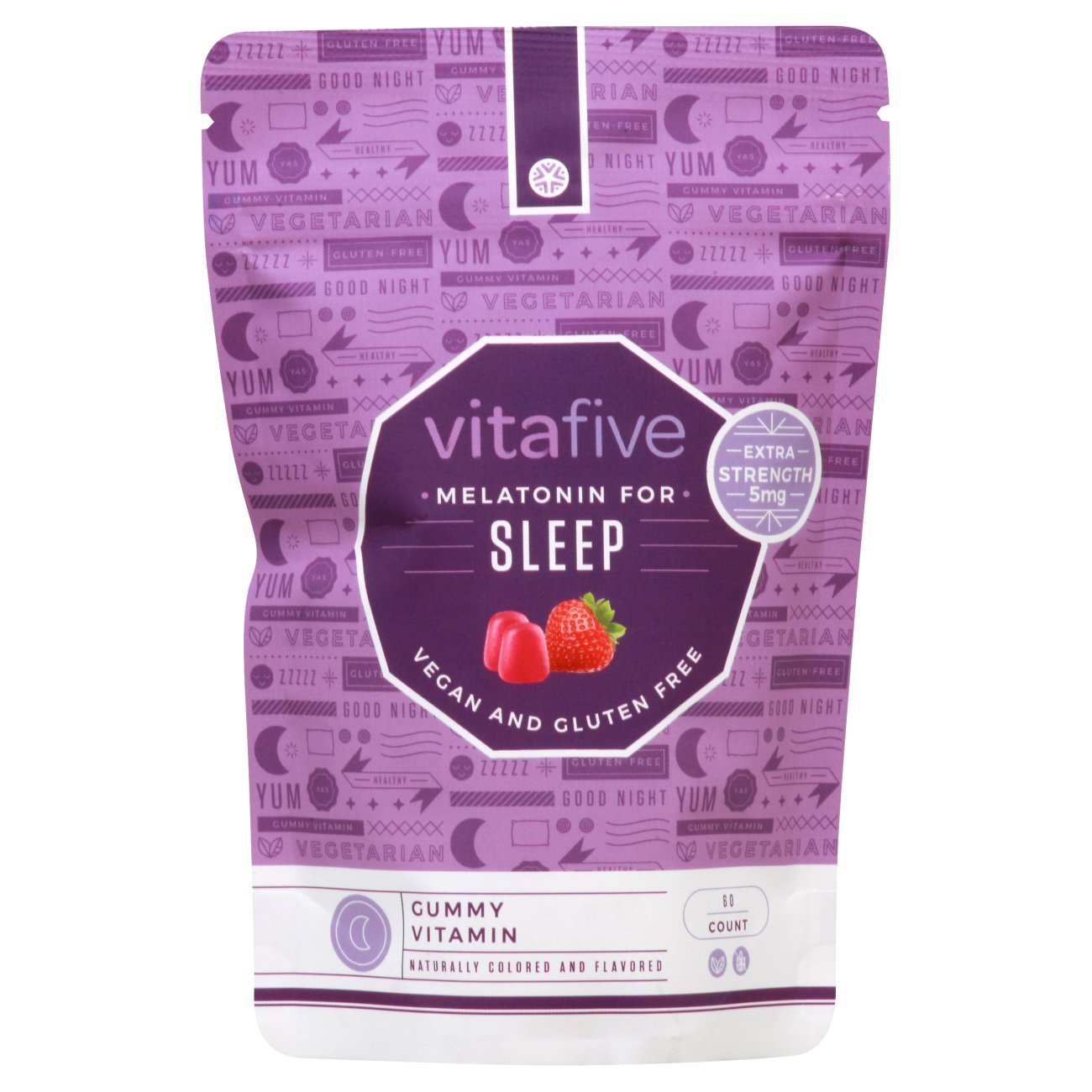 Vitafive Melatonin Sleep Gummies 5mg Shop Diet Fitness At H E B