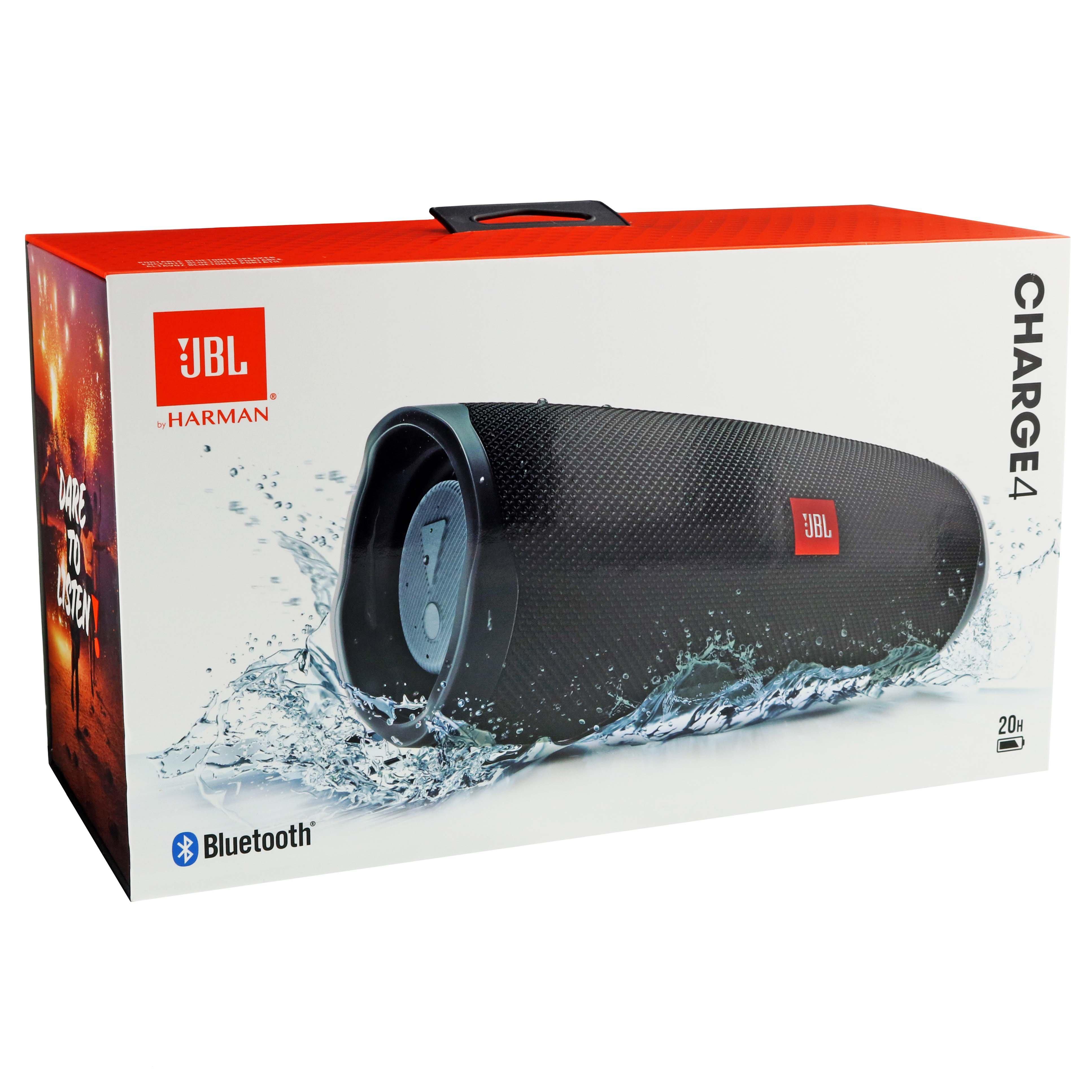 Jbl Charge 4 Bluetooth Speaker Black Shop Audio At H E B