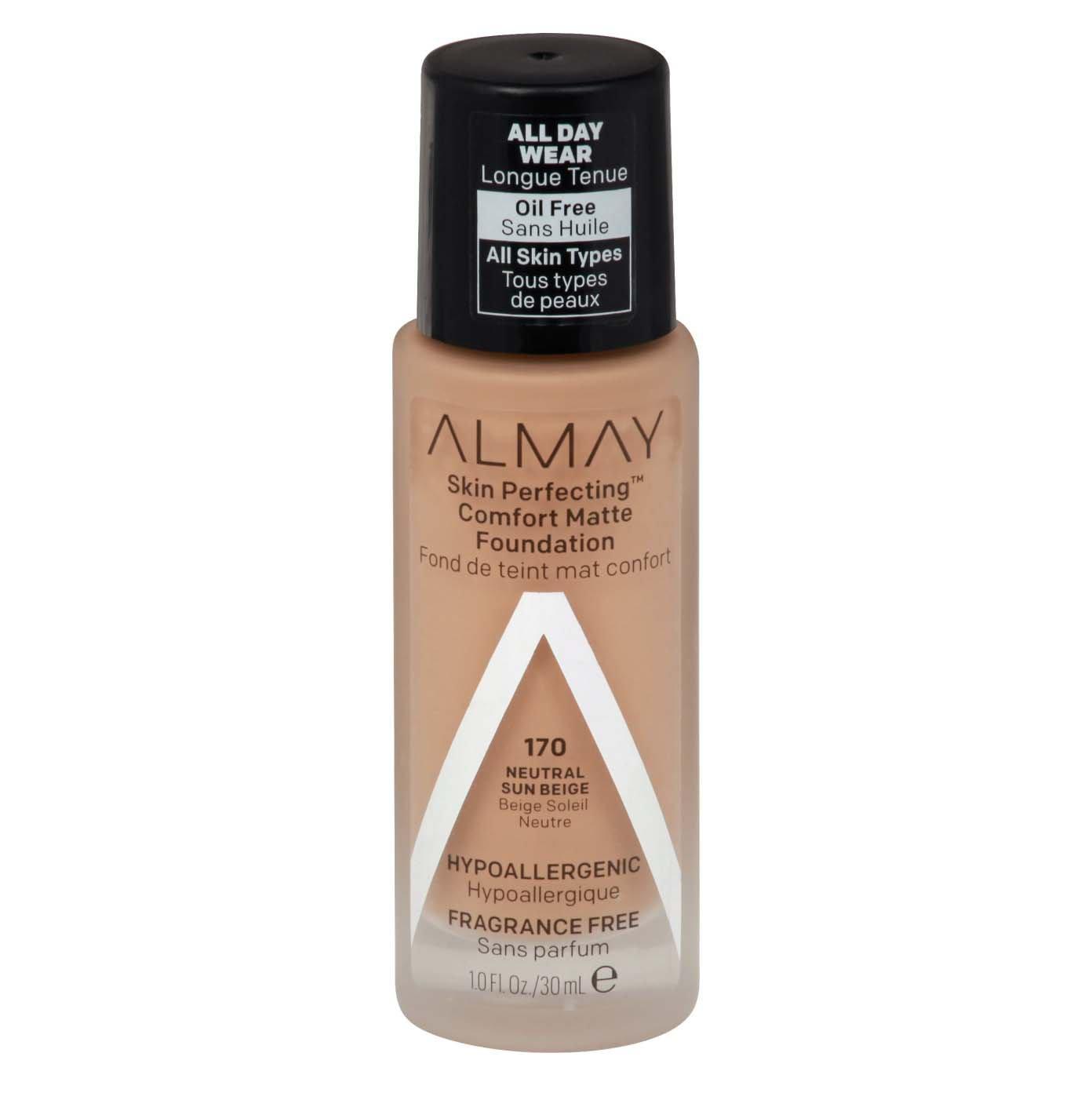 Almay Skin Perfecting Comfort Matte Foundation - 140 Cool