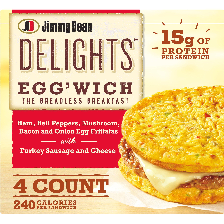 Jimmy Dean Delights Ham & Veggies Egg