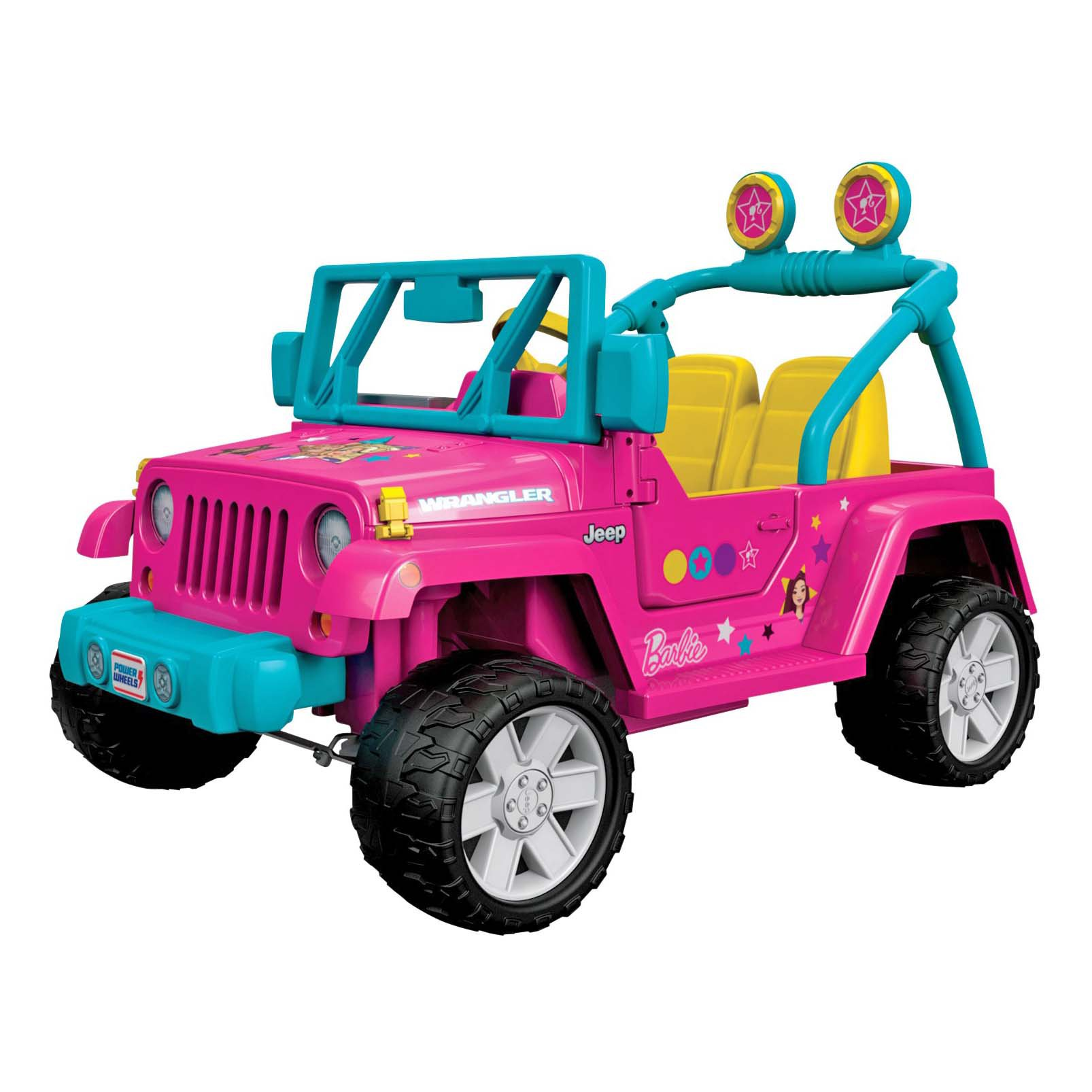 Power Wheels Barbie Jeep Wrangler Shop Ride On Toys At H E B