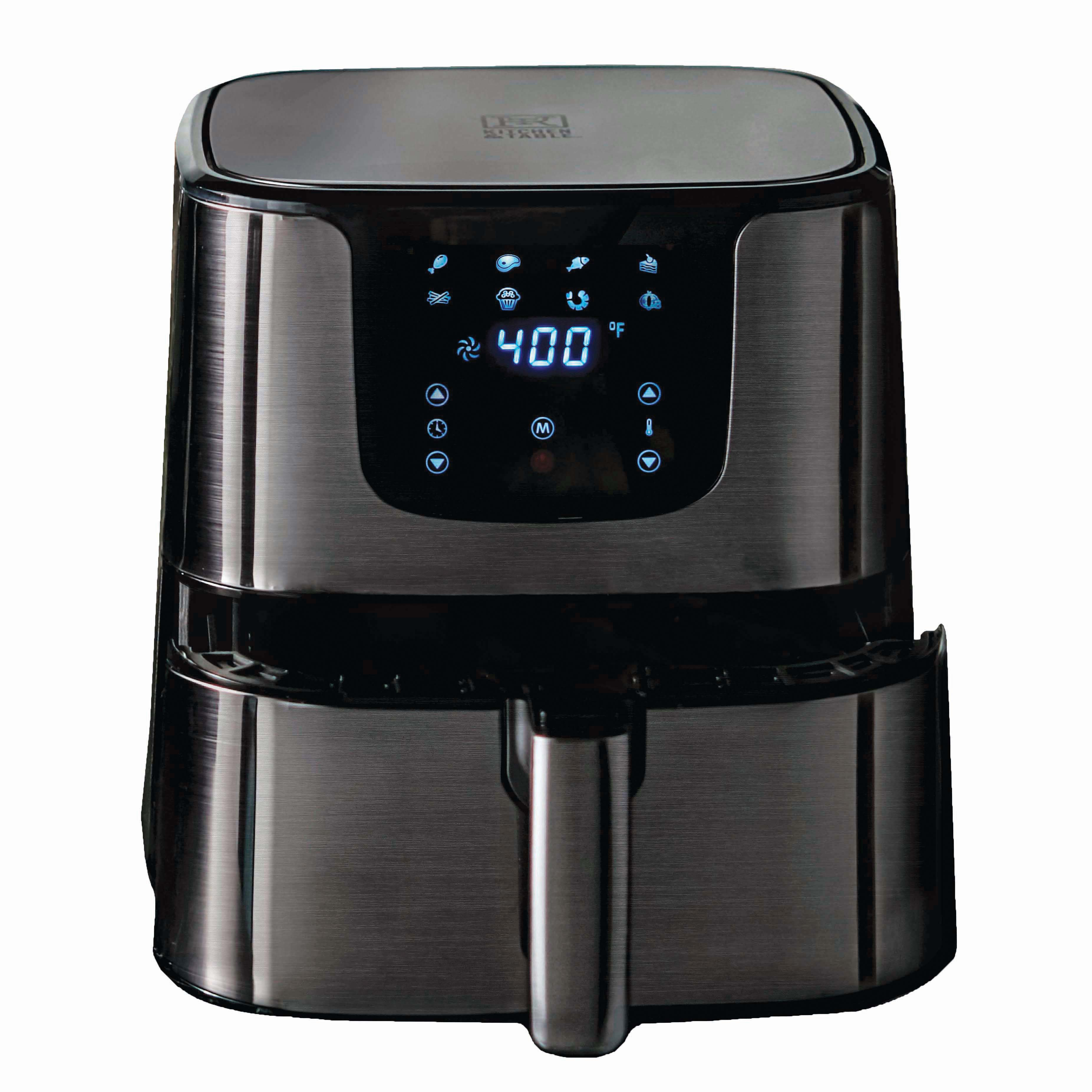 Kitchen Table Digital Air Fryer With Accessories Shop Appliances At H E B