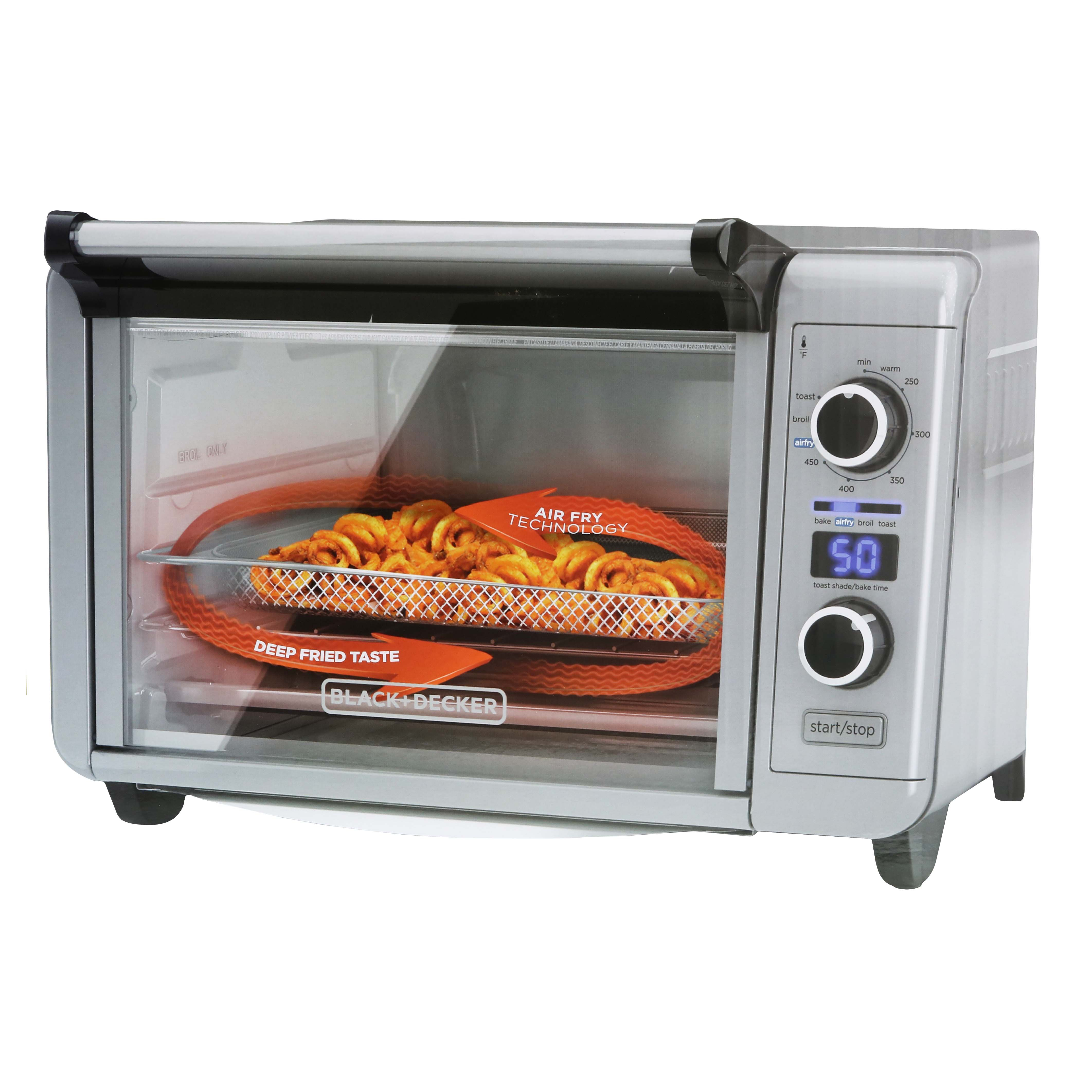 Black & Decker Crisp n' Bake Air Fryer Toaster Oven - Shop ...