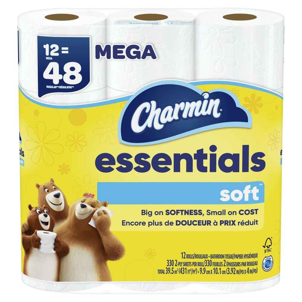 Charmin Essentials Soft Toilet Paper - Shop Toilet Paper ...