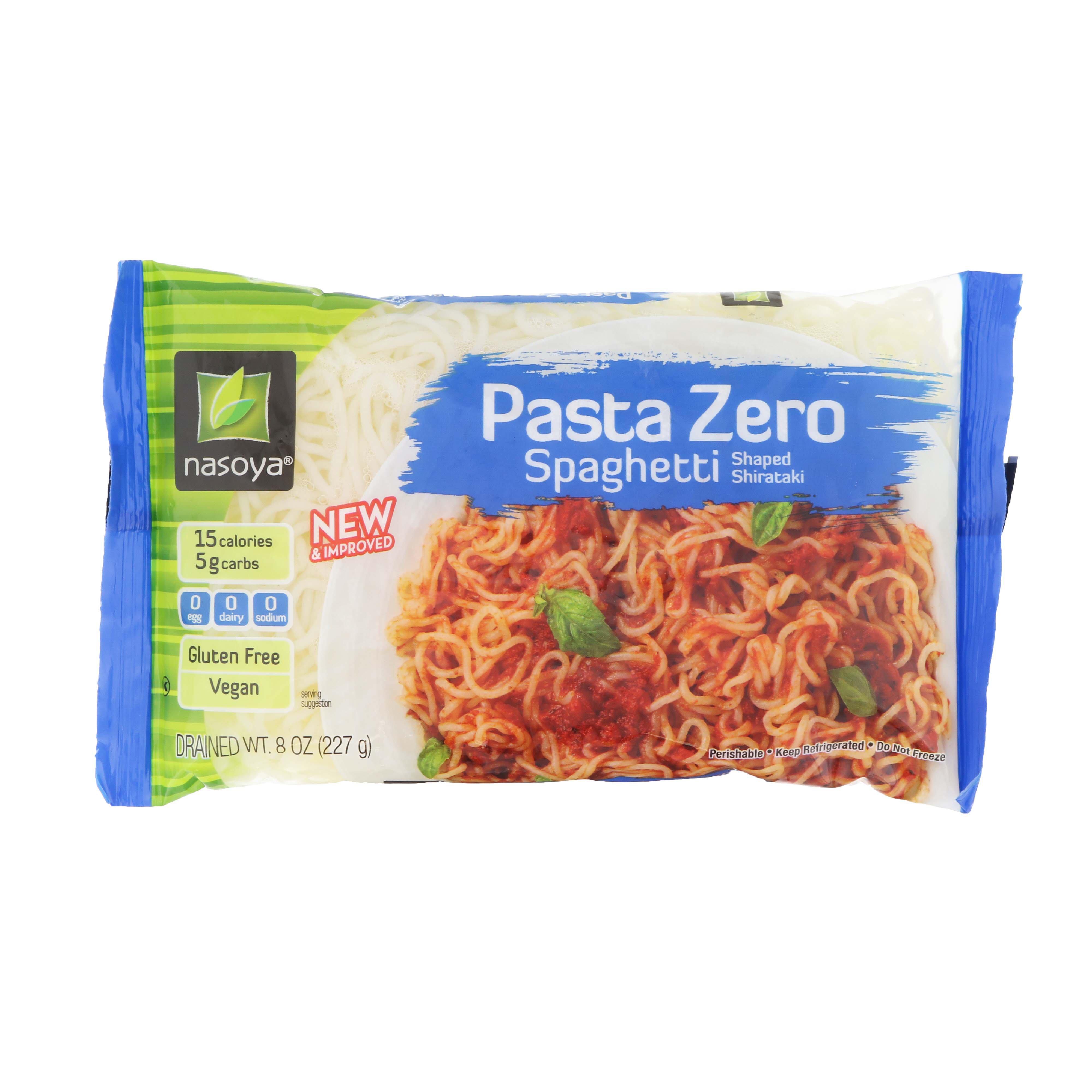 Nasoya Pasta Zero Pasta Zero Shirataki Spaghetti Shop Tofu Meat Alternatives At H E B