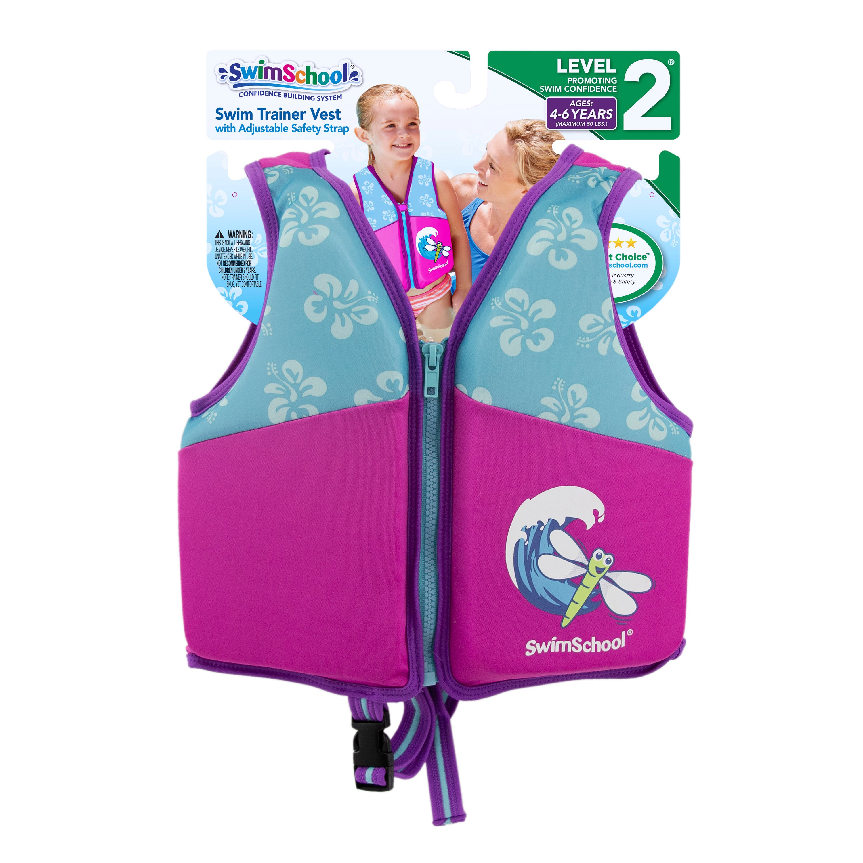 Small Aqua Leisure Swim Diaper Pink