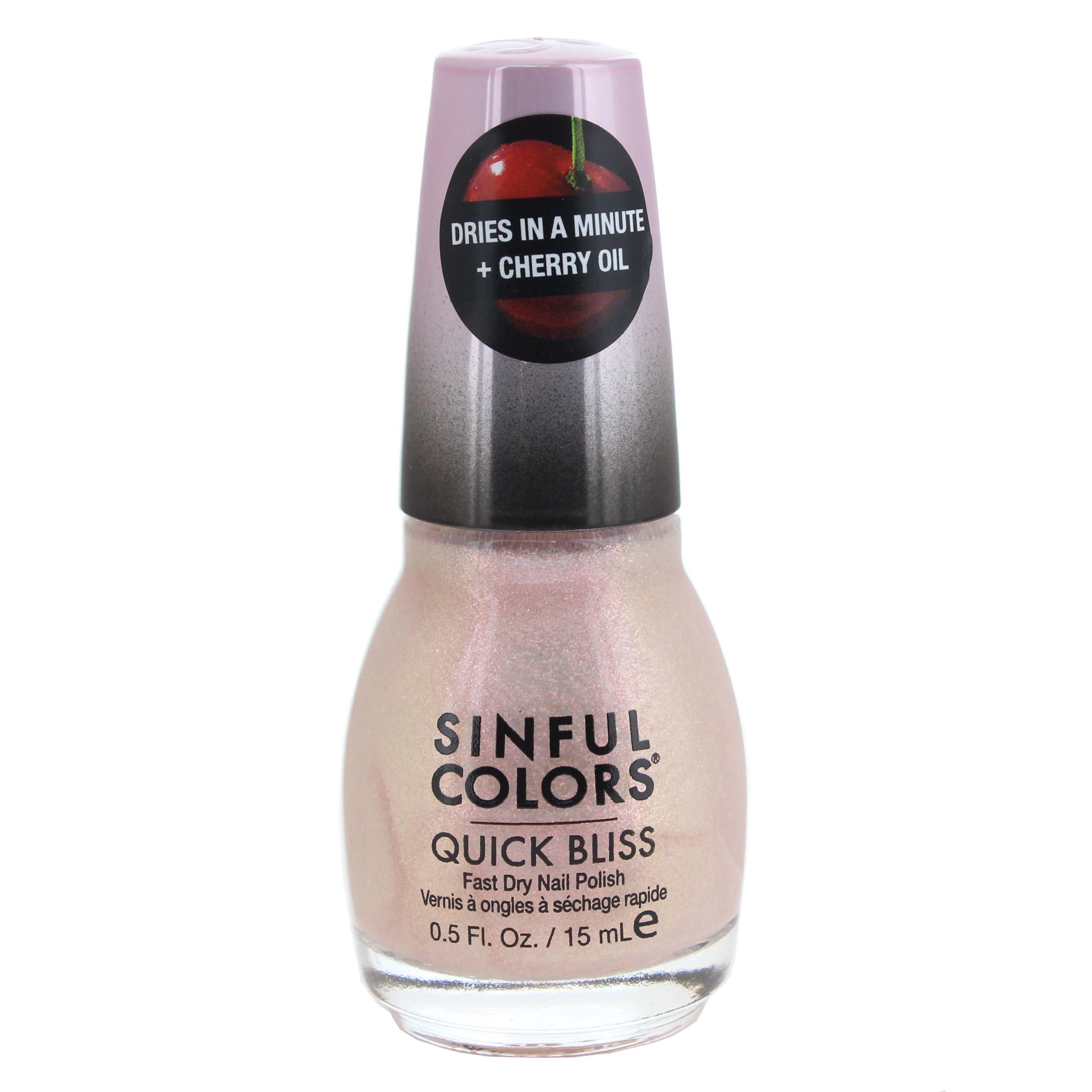 Sinful Colors Quick Bliss Ice Ice Cherry Nail Enamel Shop Nail Polish At H E B
