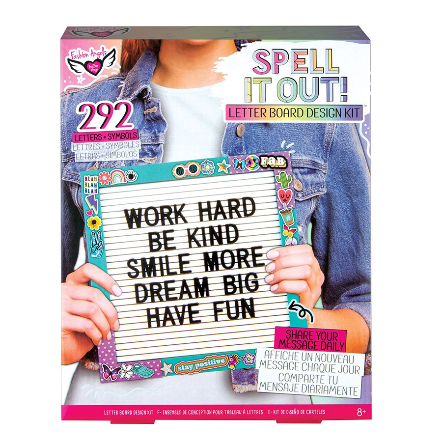 Fashion Angels Letter Board Design Kit Shop Kits At H E B