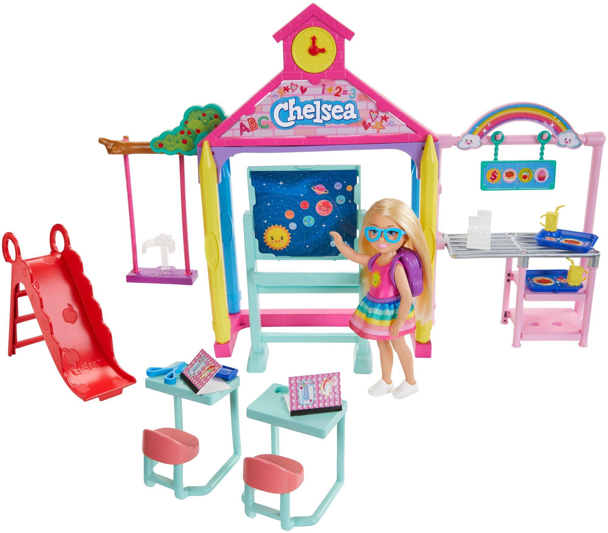 Barbie Club Chelsea School Playset Shop Playsets At H E B