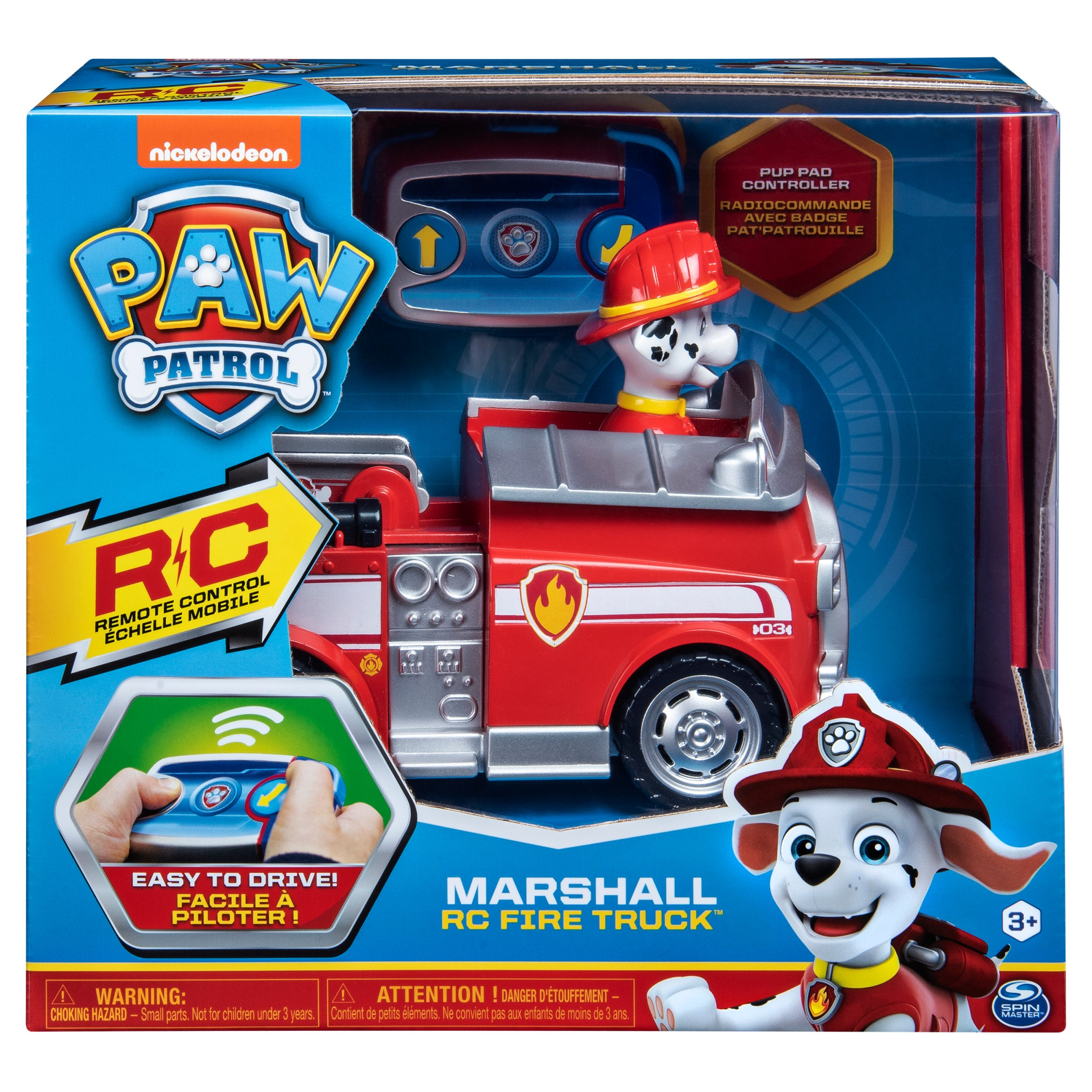 Spin Master Toys Paw Patrol Remote Control Vehicle Marshall Shop Toy Vehicles At H E B
