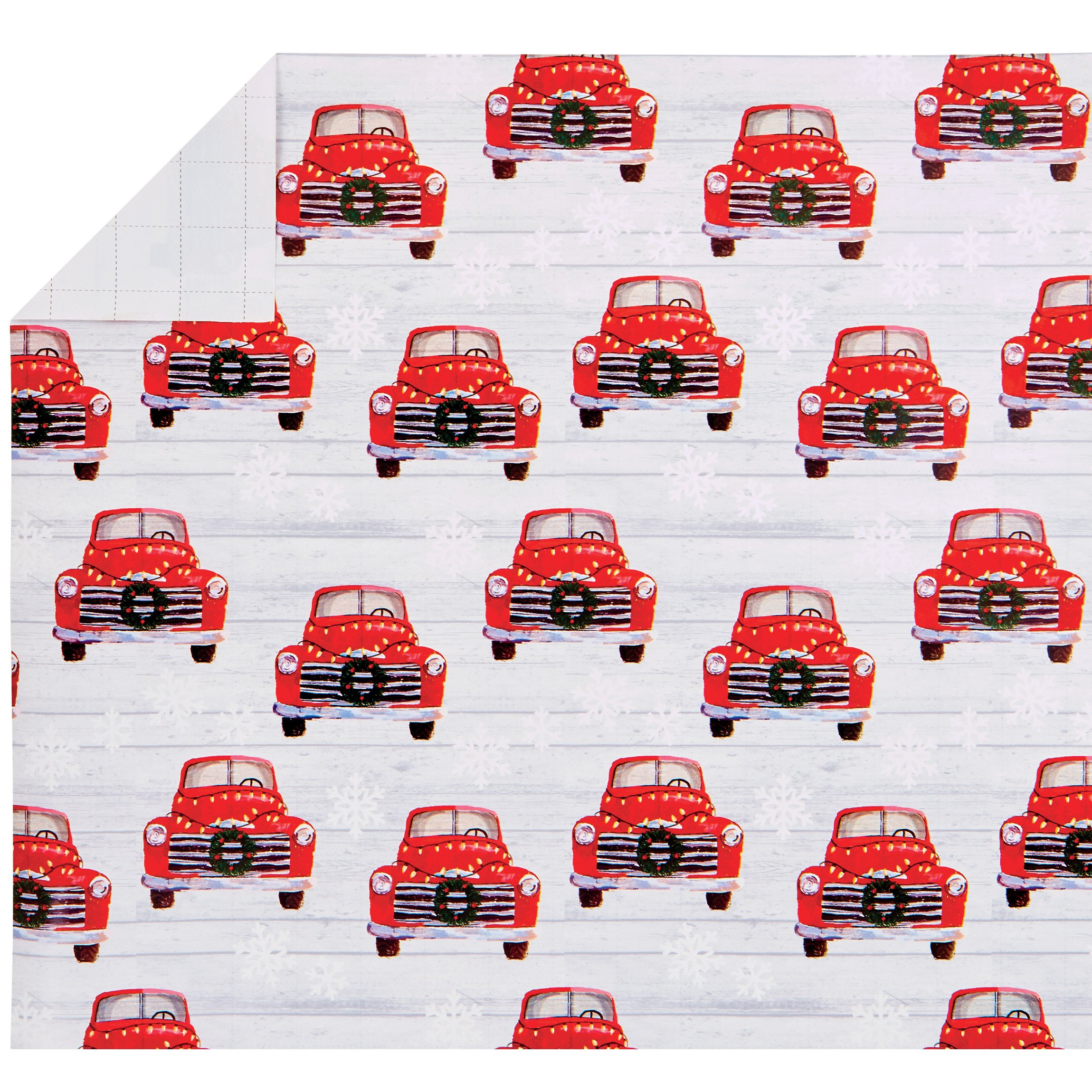 Thirty Fourth Main Vintage Truck Christmas Gift Wrap Shop Party Supplies At H E B
