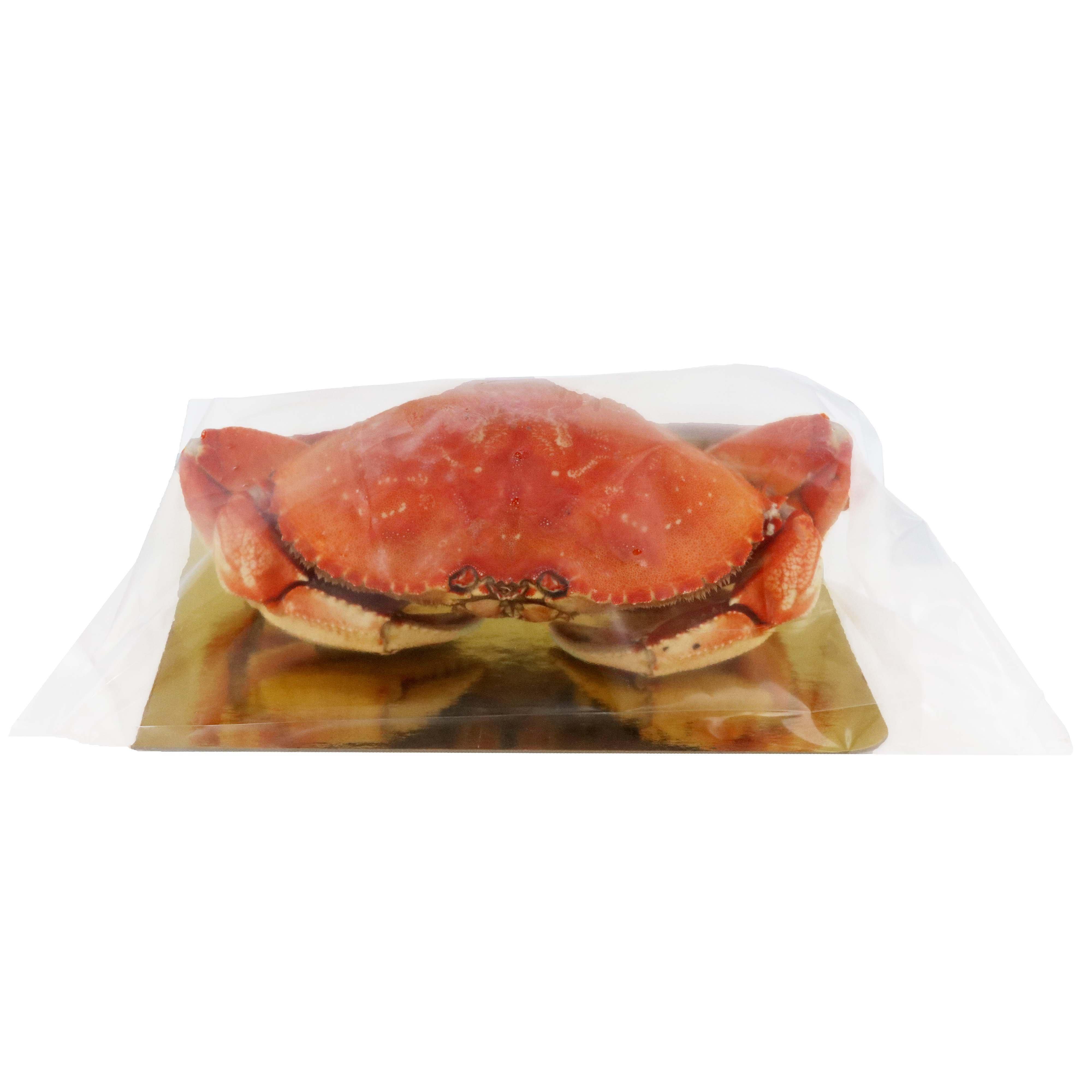 H E B Wild Cooked Whole Dungeness Crab Royal Pack Shop Shrimp Shellfish At H E B