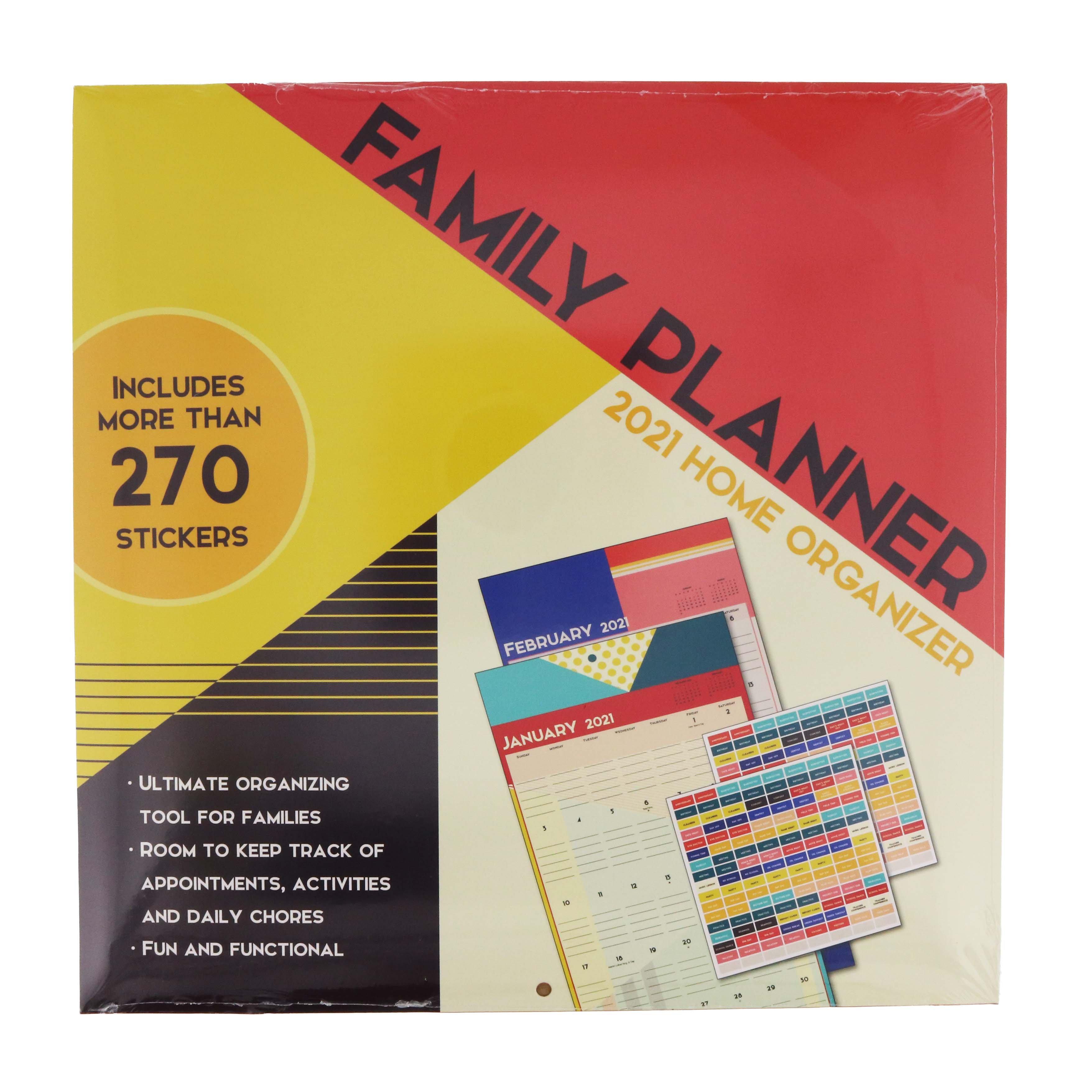 Trends International Family Planner 2021 Wall Calendar ...