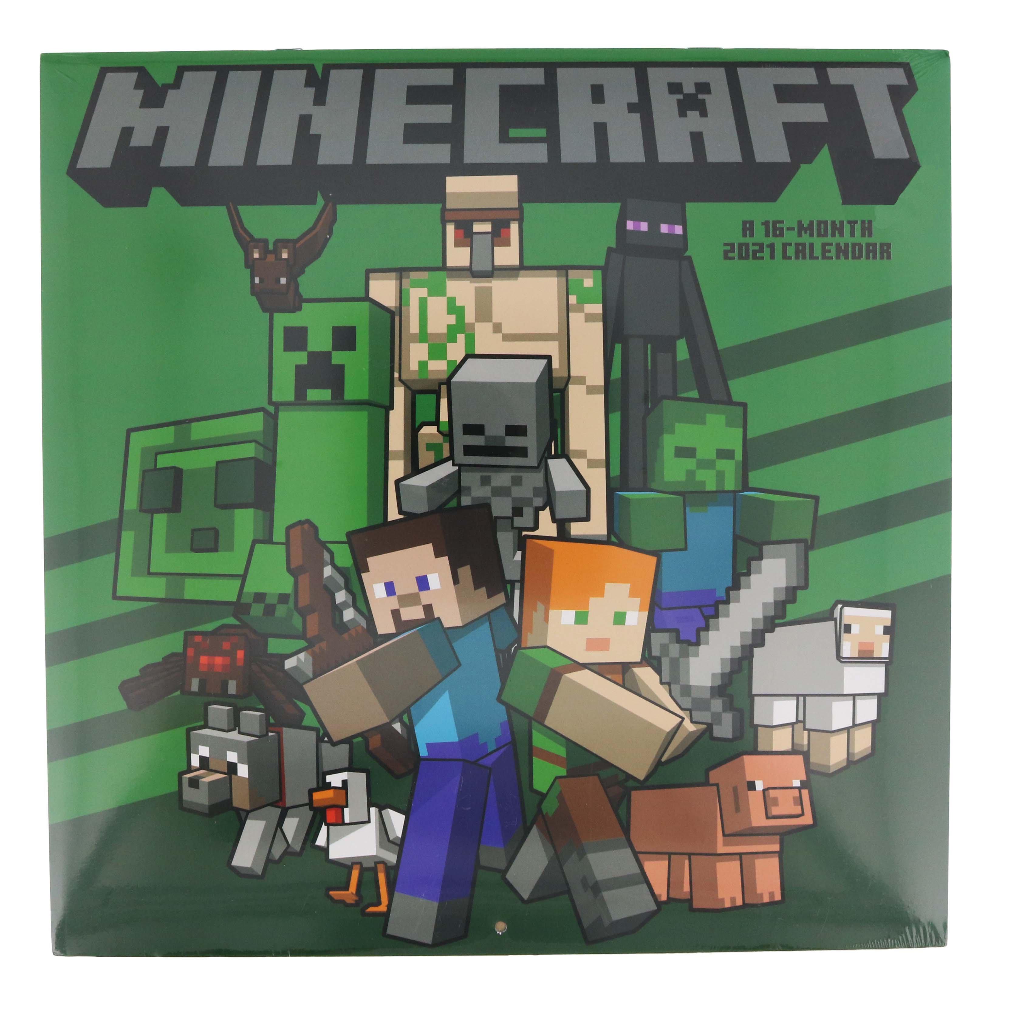 Trends International Minecraft 10 Wall Calendar