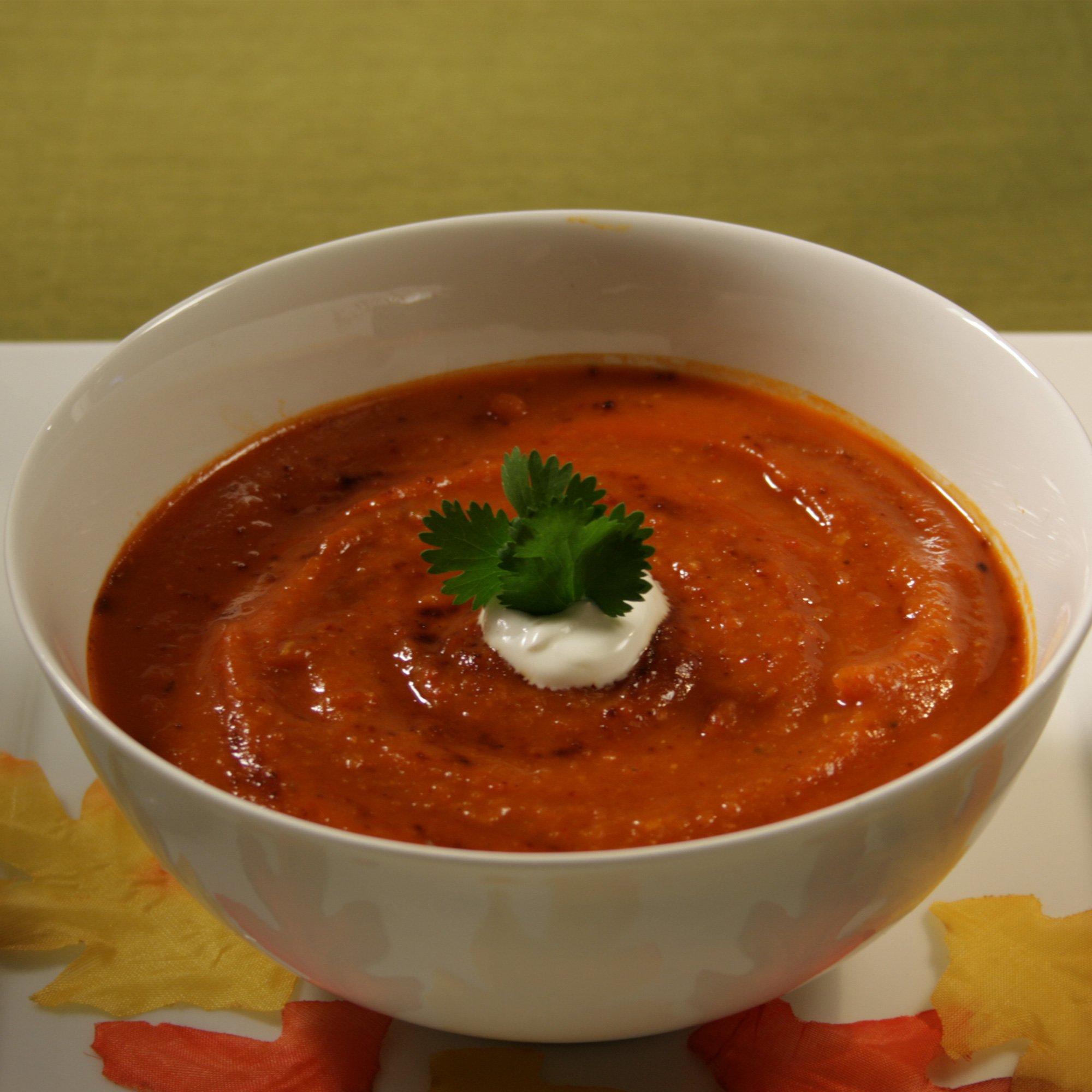 Ancho Butternut Squash Soup